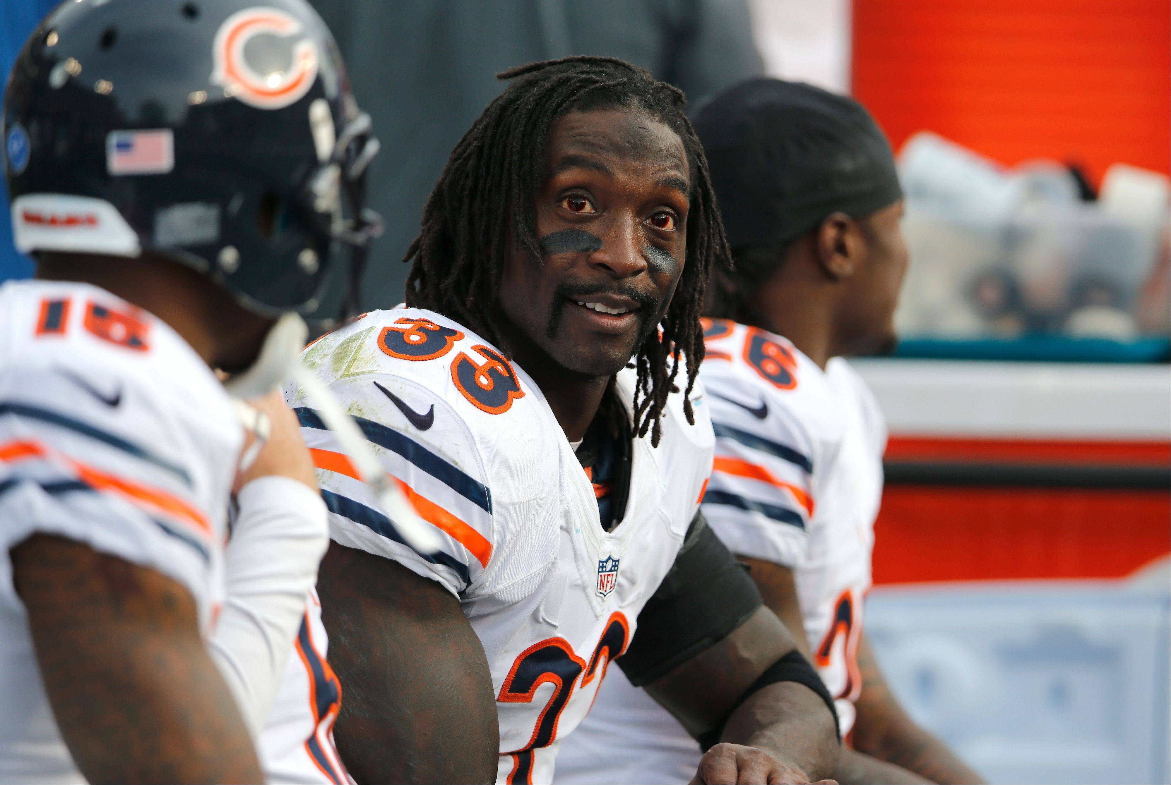 Bears cornerback Charles Tillman was the star of the show in the team's 7-1 first half.