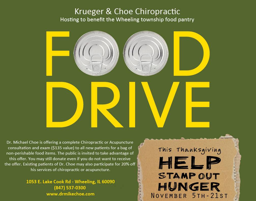 Food Drive for Wheeling Township Food Pantry