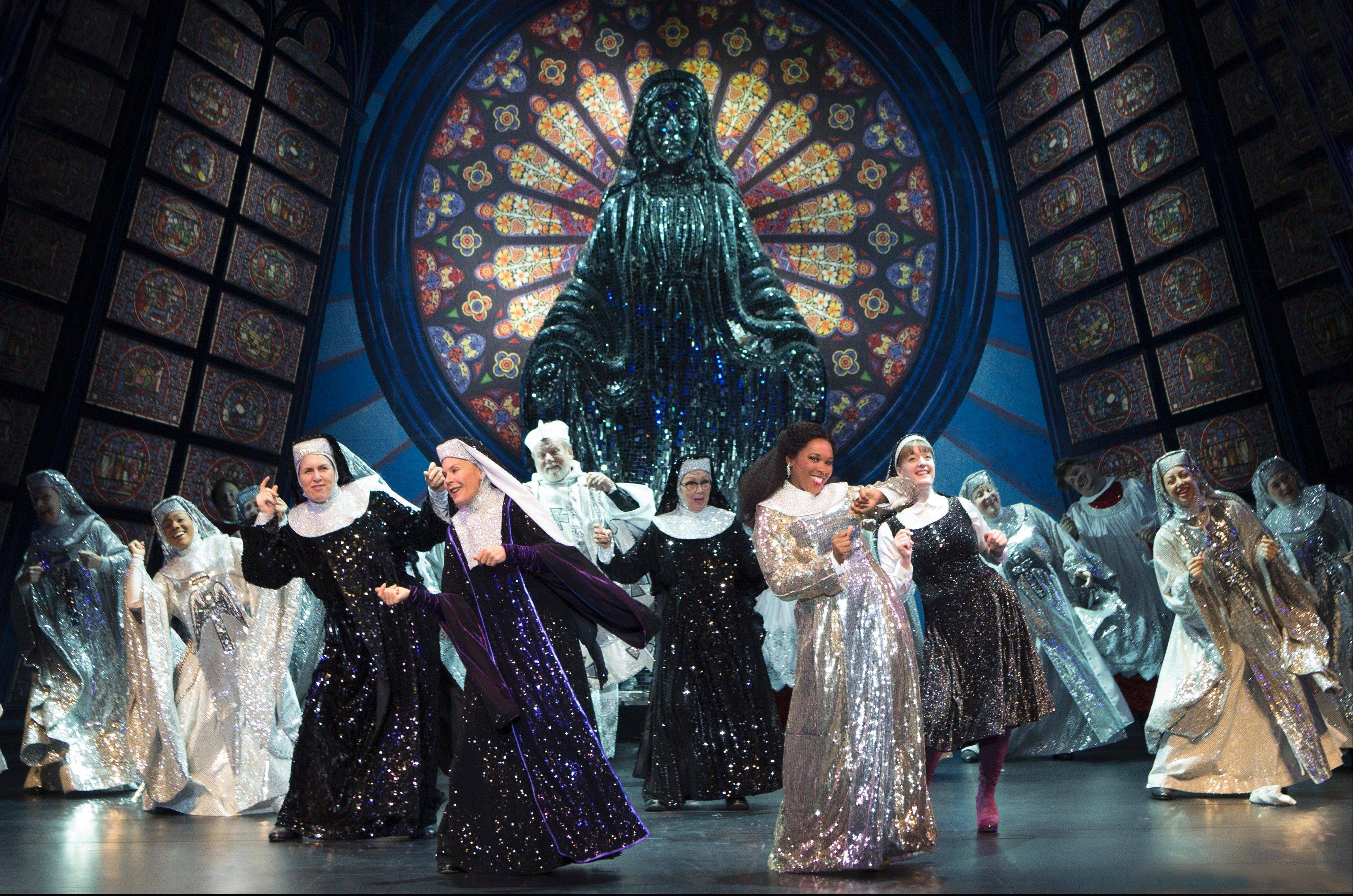 """Sister Act"" draws to a close with a sparkly finale. The national tour of ""Sister Act"" plays at the Auditorium Theatre of Roosevelt University in Chicago from Tuesday, Nov. 13, through Sunday, Dec. 2."