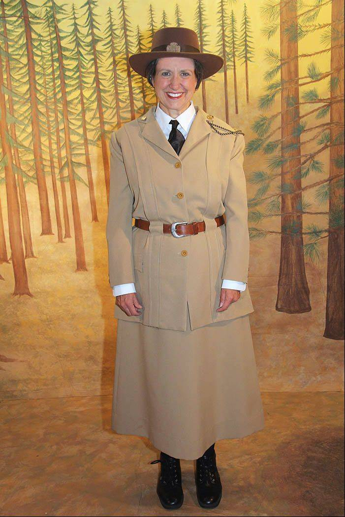 Betsey Means of WomanLore portrays and adapts the story of Juliette Gordon Low, founder of the Girl Scouts.