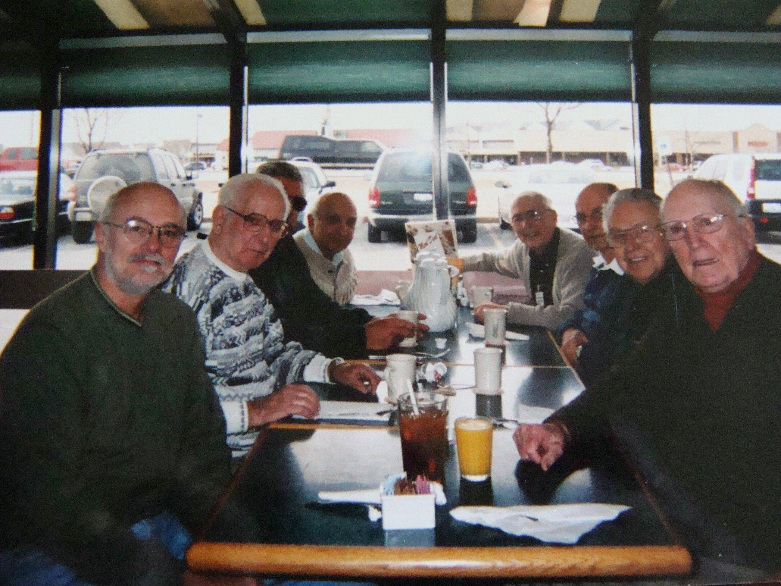 """The Beach Boys,"" a group of D-Day survivors from the Geneva area who met regularly for breakfast, were among the first interviews done by author Jeff Meek."