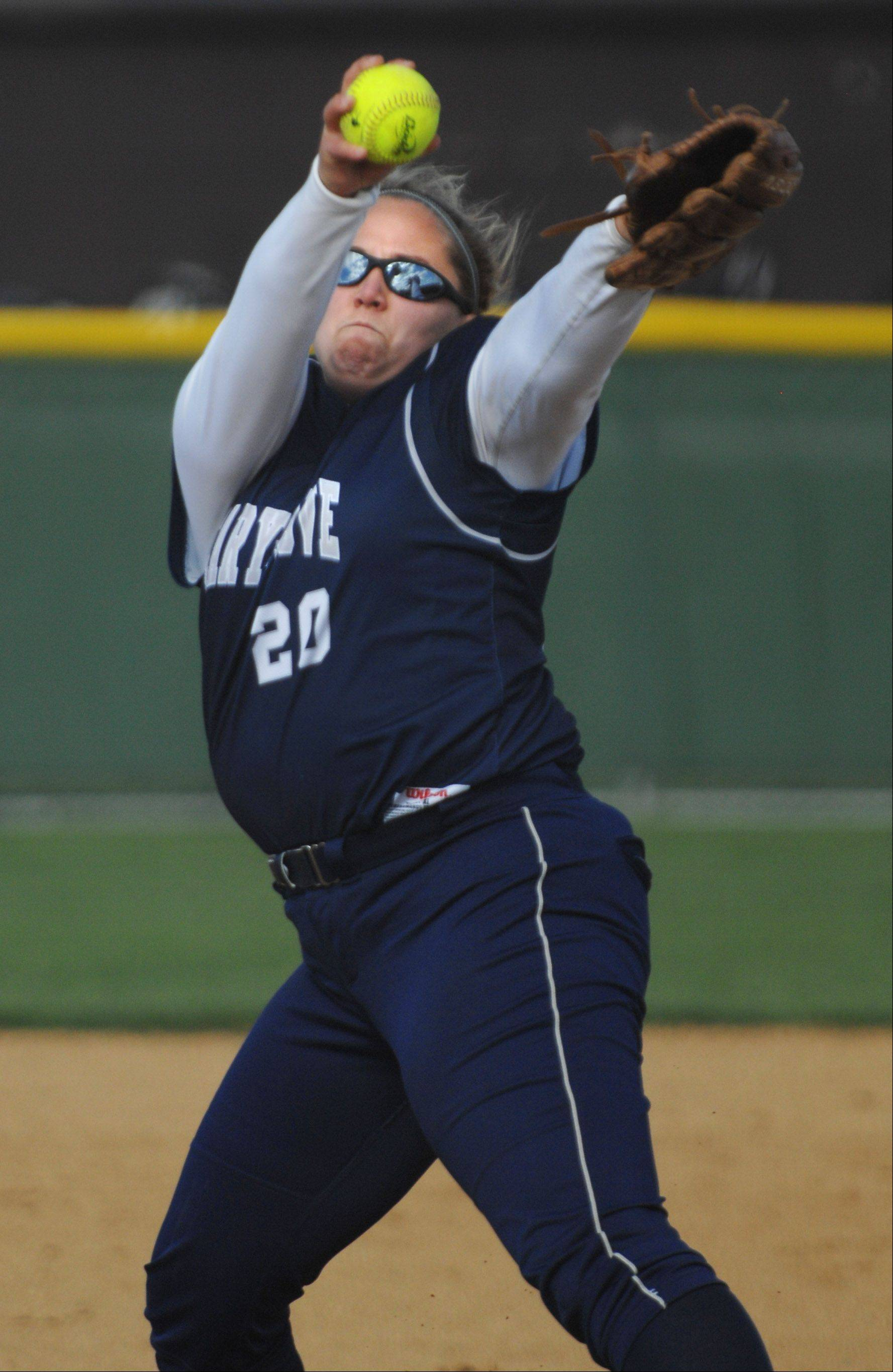 Cary-Grove senior Lindsay Efflandt will take her softball and academic talents to Yale University next year.