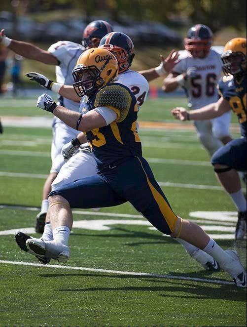 Burlington Central graduate Tim Maroder is making the most of his opportunities as a sophomore at Augustana College in Rock Island.