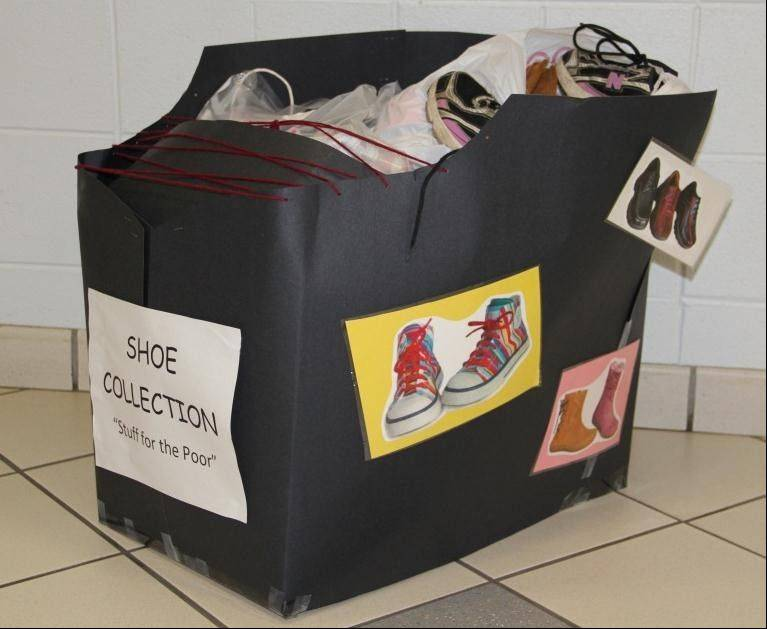 Through Nov. 18, the Schaumburg Park District 's Early Childhood department will collect used shoes for donation to the WINGS Resale Store. Visit parkfun.com.