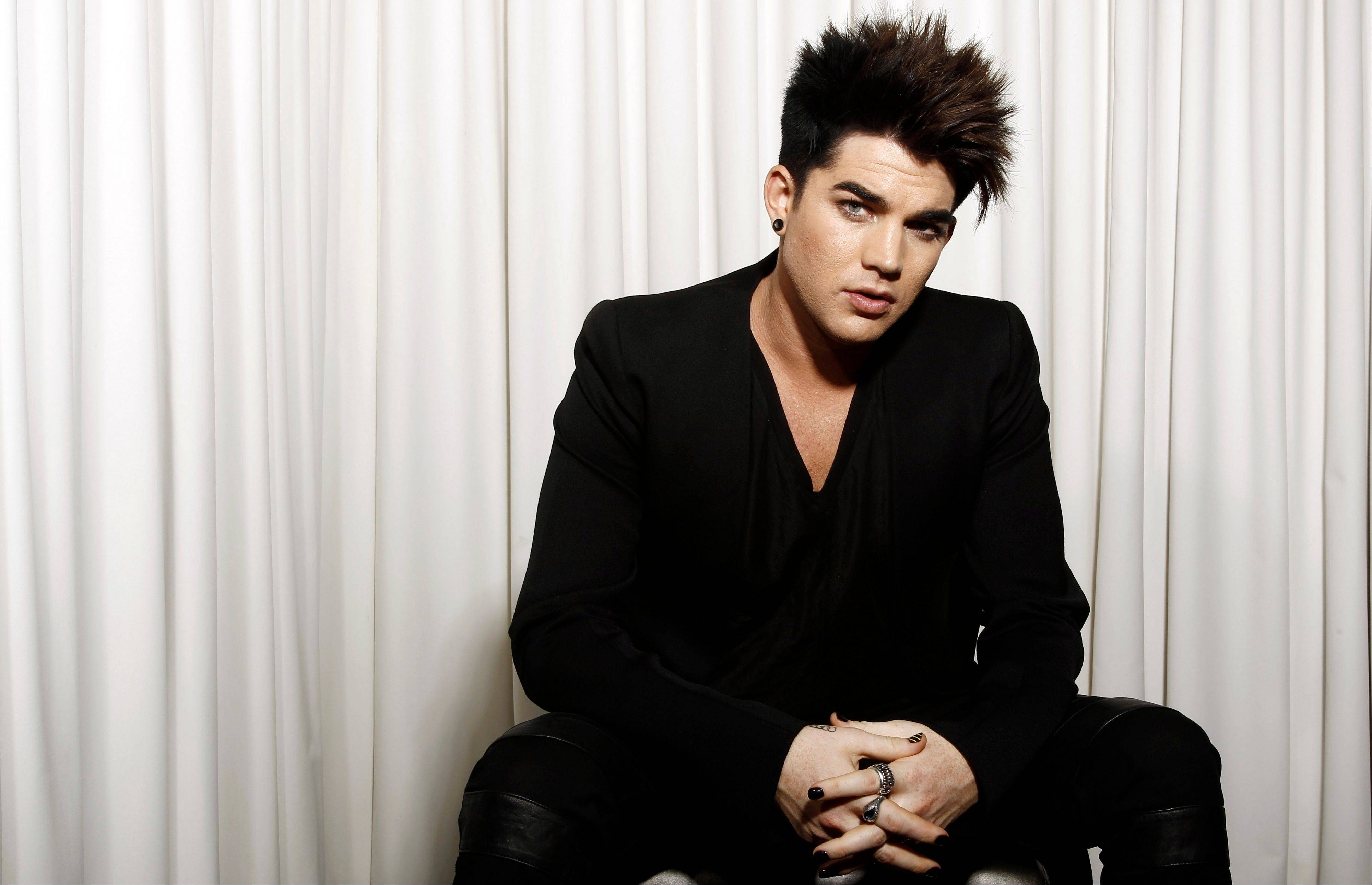 "Musician Adam Lambert will host and perform at the ""VH1 Divas"" event in New York."
