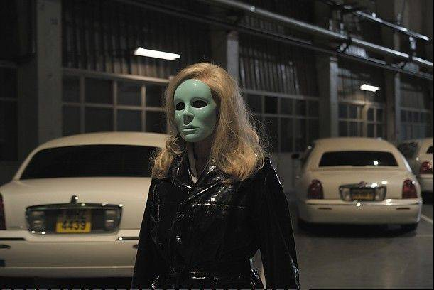 "A limousine driver (Edith Scob) calls it a day after some very weird assignments in Leos Carax's surrealistic cinematic experience ""Holy Motors."""