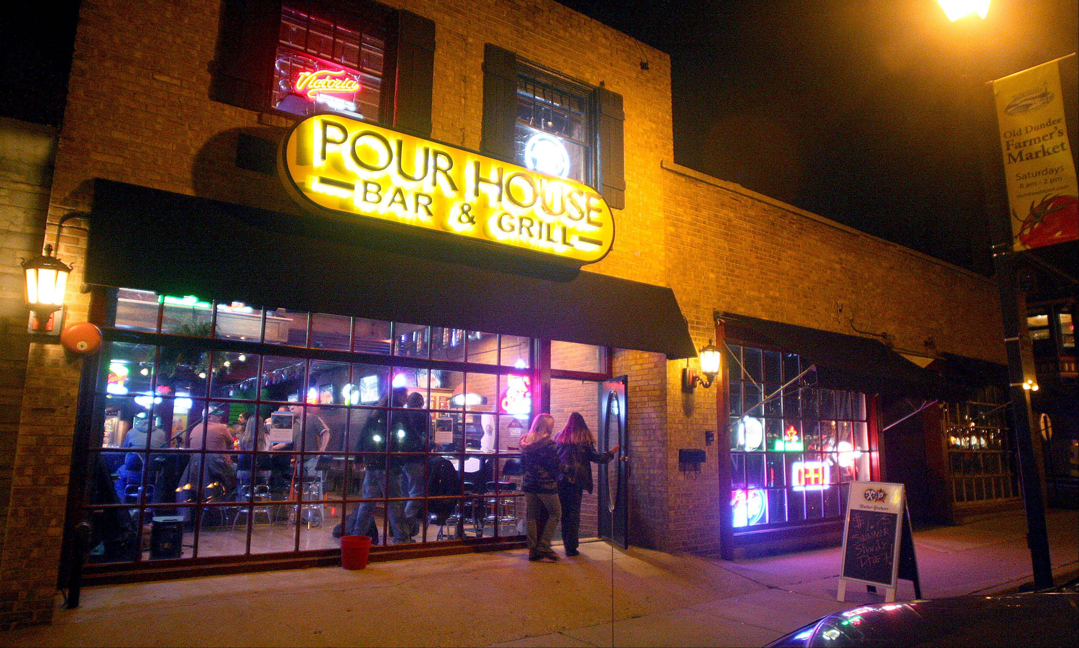The Pour House Bar & Grill is located along North River Street in East Dundee.
