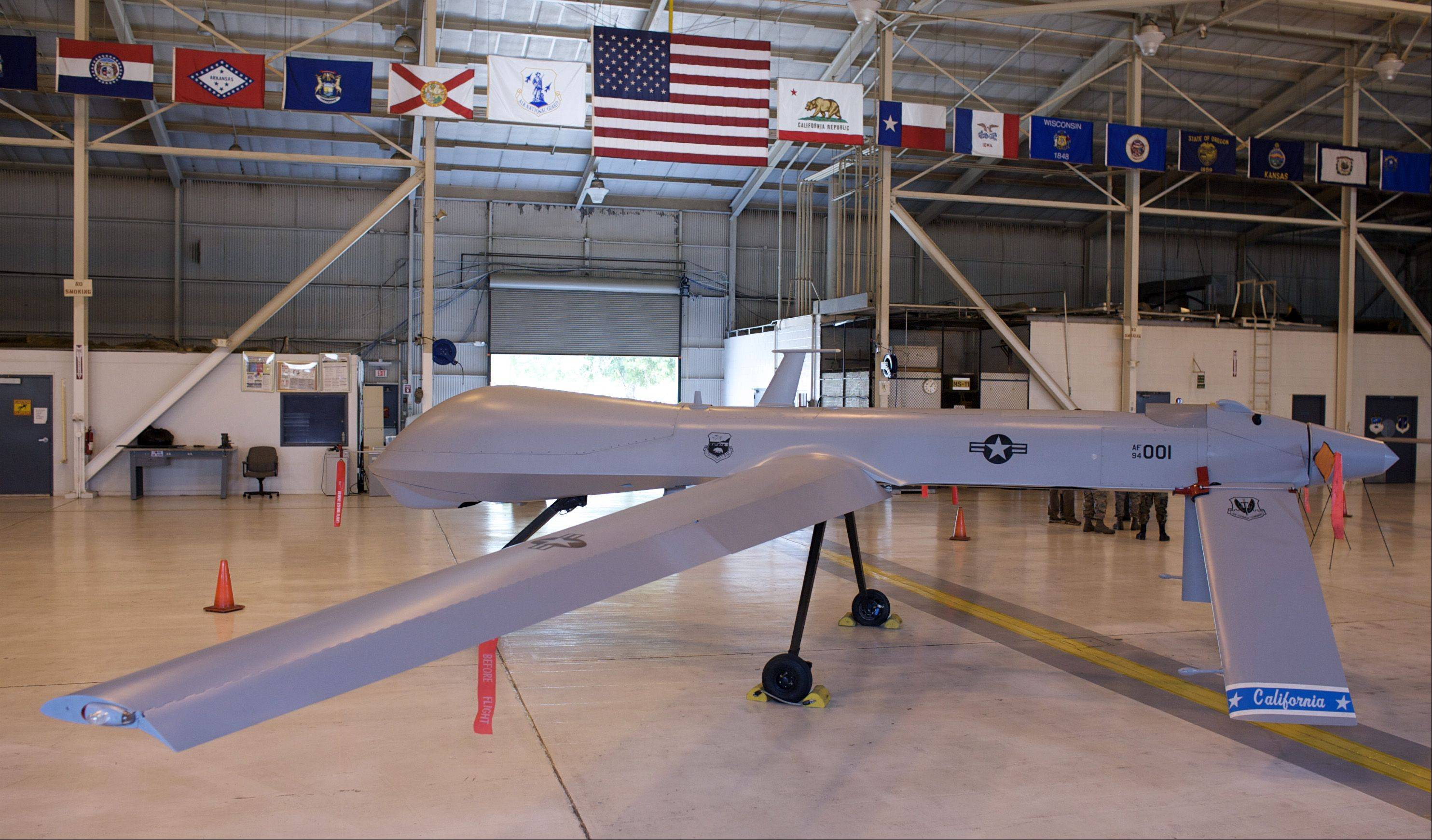 The U.S. has increasingly employed unmanned drones in its war on terrorism.