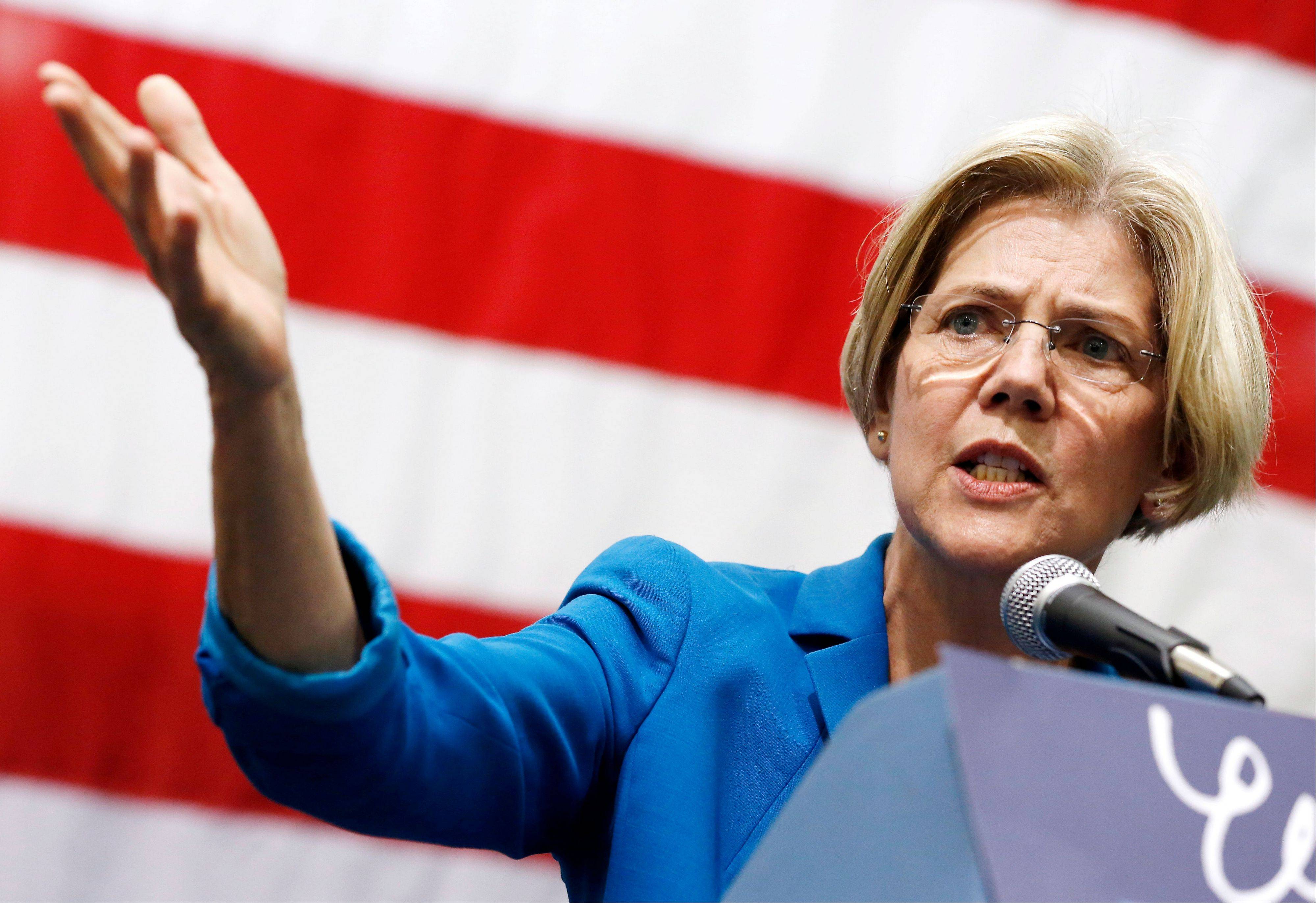 Democratic candidate Elizabeth Warren on Tuesday defeated incumbent Republican Sen. Scott Brown for a U.S. Senate seat from Massachusetts.