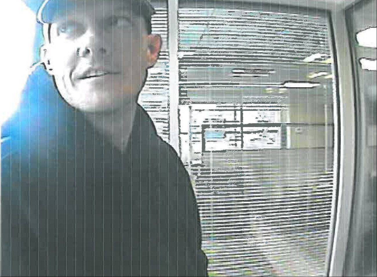 This man is a suspect in a bank robbery that occurred at a TCF Bank in Rolling Meadows on Oct. 26. Rolling Meadows police are asking for the public's help in identifying the man.
