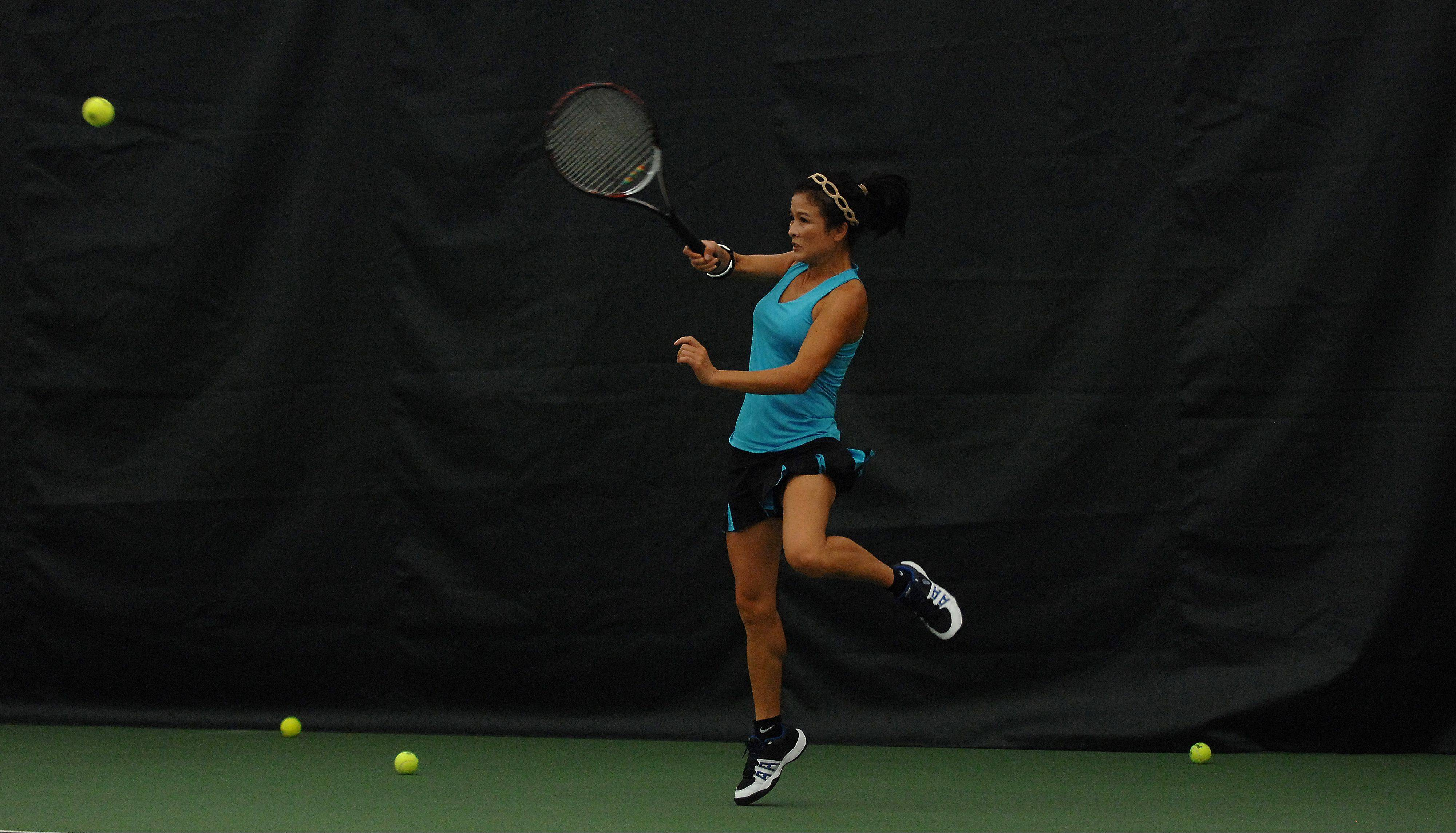 Lynch has a 'natural-born talent' for tennis, according to an ECC teammate.