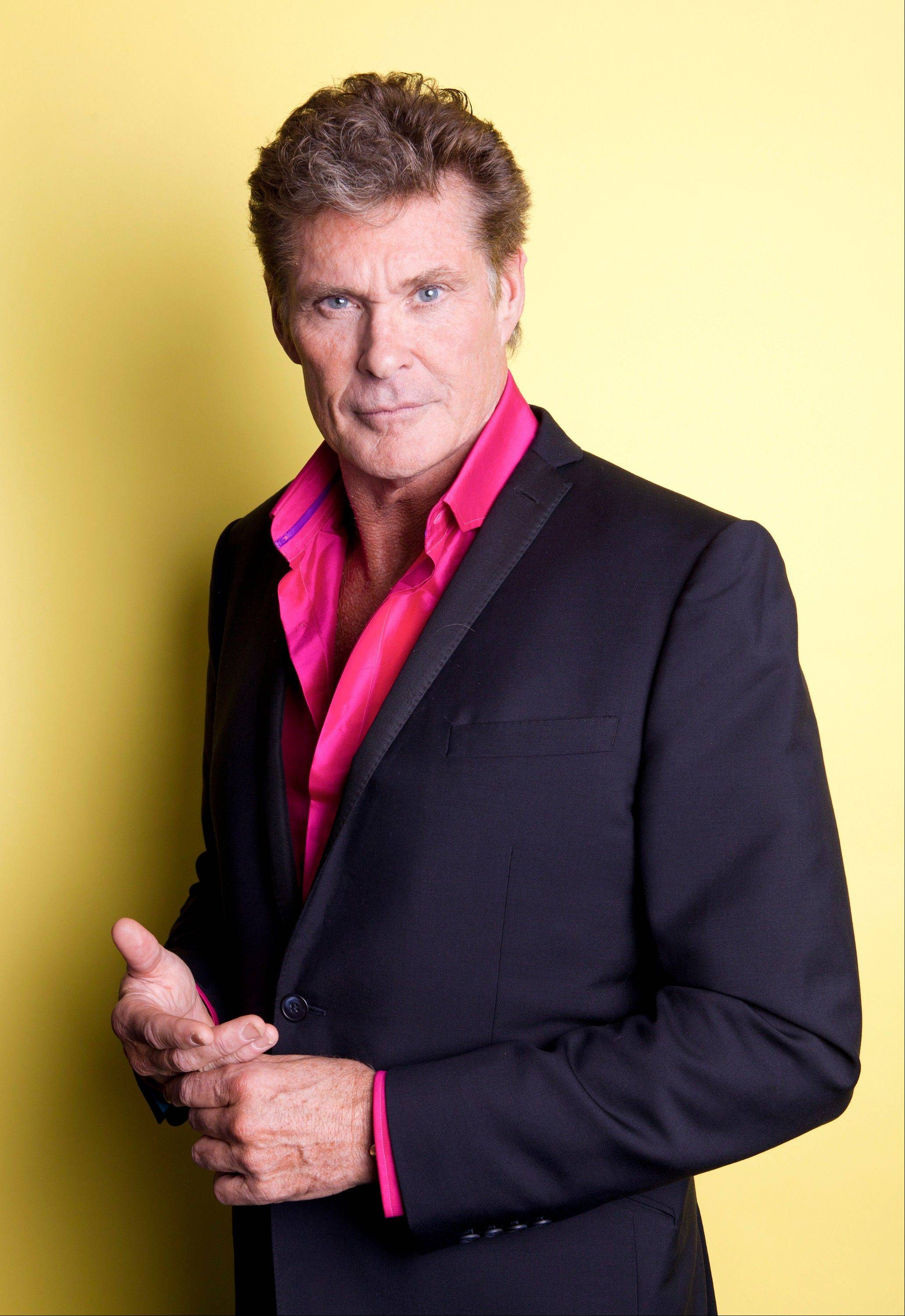 "Actor, singer and producer David Hasselhoff appears in the Lifetime original movie, ""The Christmas Consultant,"" airing Saturday, Nov. 10 at 7 p.m. on Lifetime."