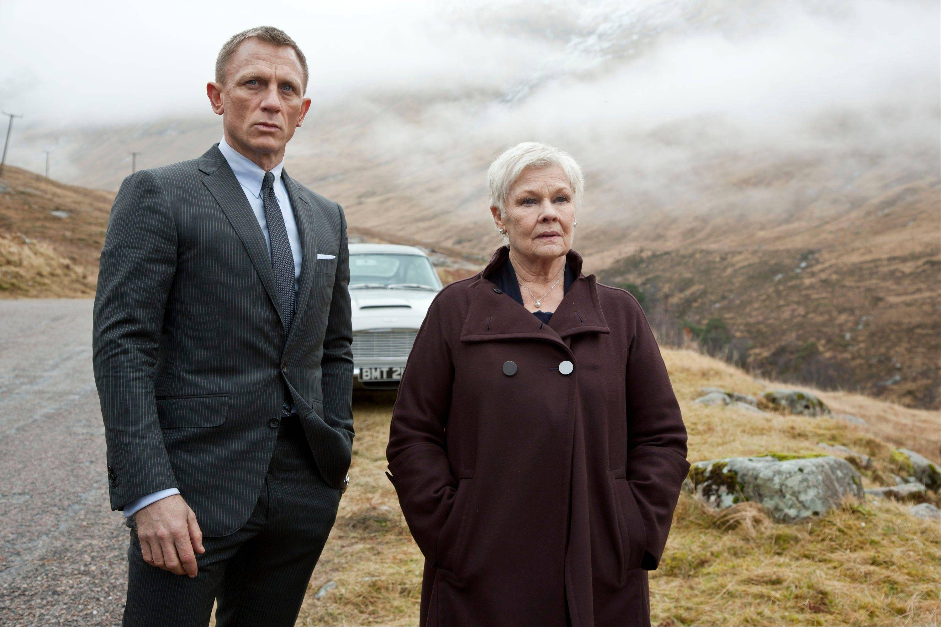 "Judi Dench, starring in ""Skyfall"" with Daniel Craig, has been the Bond matriarch: the strong-willed, no-nonsense mainstay of feminine authority in a movie franchise that has, more often than not, featured slightly more superficial womanly traits."