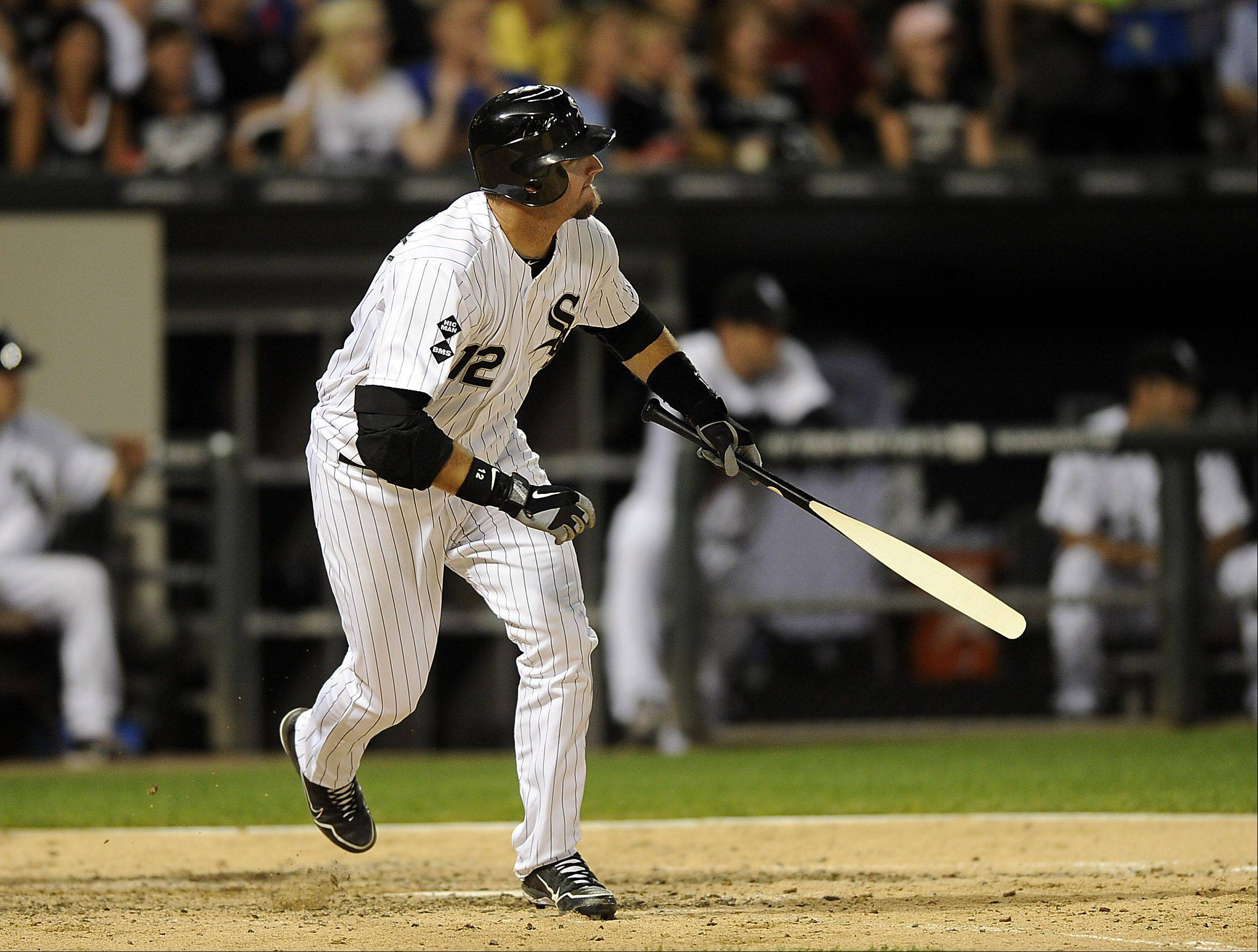 White Sox catcher A.J. Pierzynski earned his first Silver Slugger Award for his hitting in 2012. Pierzynski hit a career-high 27 home runs in 135 games and he also set career bests in runs scored (68), slugging percentage (.501) and OPS (.827) and matched his season high with 77 RBI (also 2004).