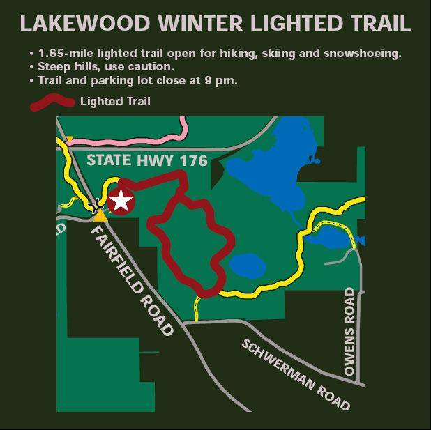 Lake forest preserves now have solar lights on trails