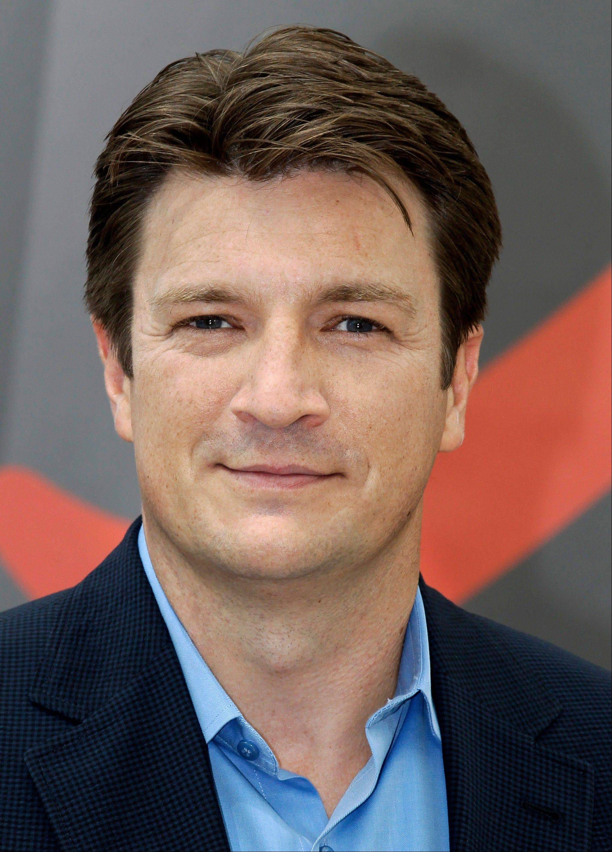 """The way I see it is there are people who love 'Firefly' as much as I do,"" Nathan Fillion said. A marathon showing of all the ""Firefly"" episodes on the Science Channel starts at 6 a.m. Sunday, Nov. 11."