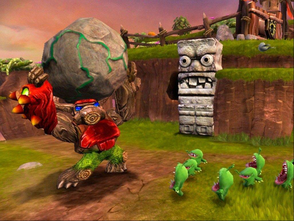 """Skylander Giants"" is a lighthearted romp that parents and children can enjoy together."