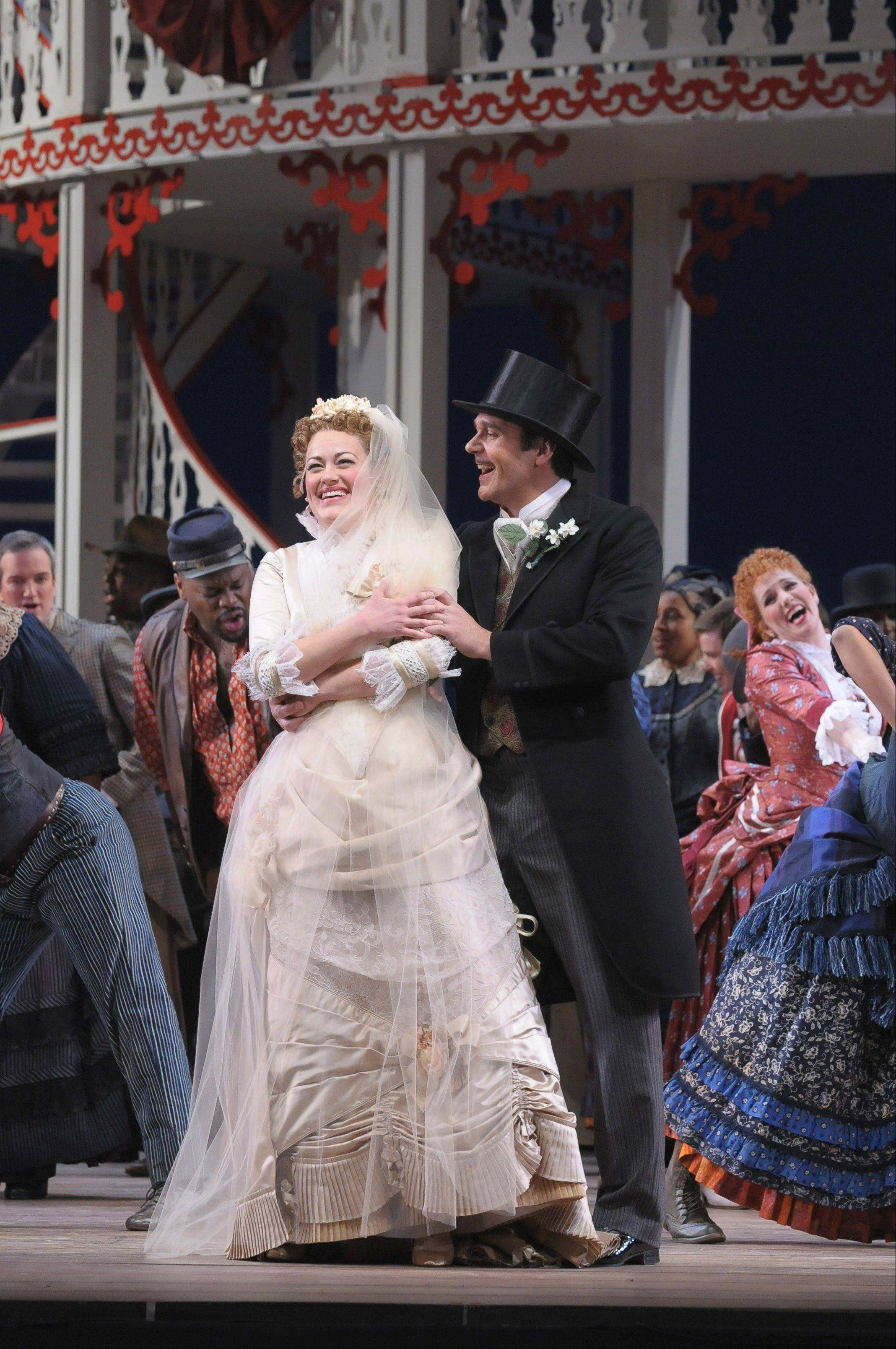 "Ashley Brown starred as Magnolia in the Lyric Opera of Chicago's 2012 production of the landmark 1927 Broadway musical ""Show Boat."" Brown will star as Laurie for the Lyric's new production of ""Oklahoma!"" in May 2013."