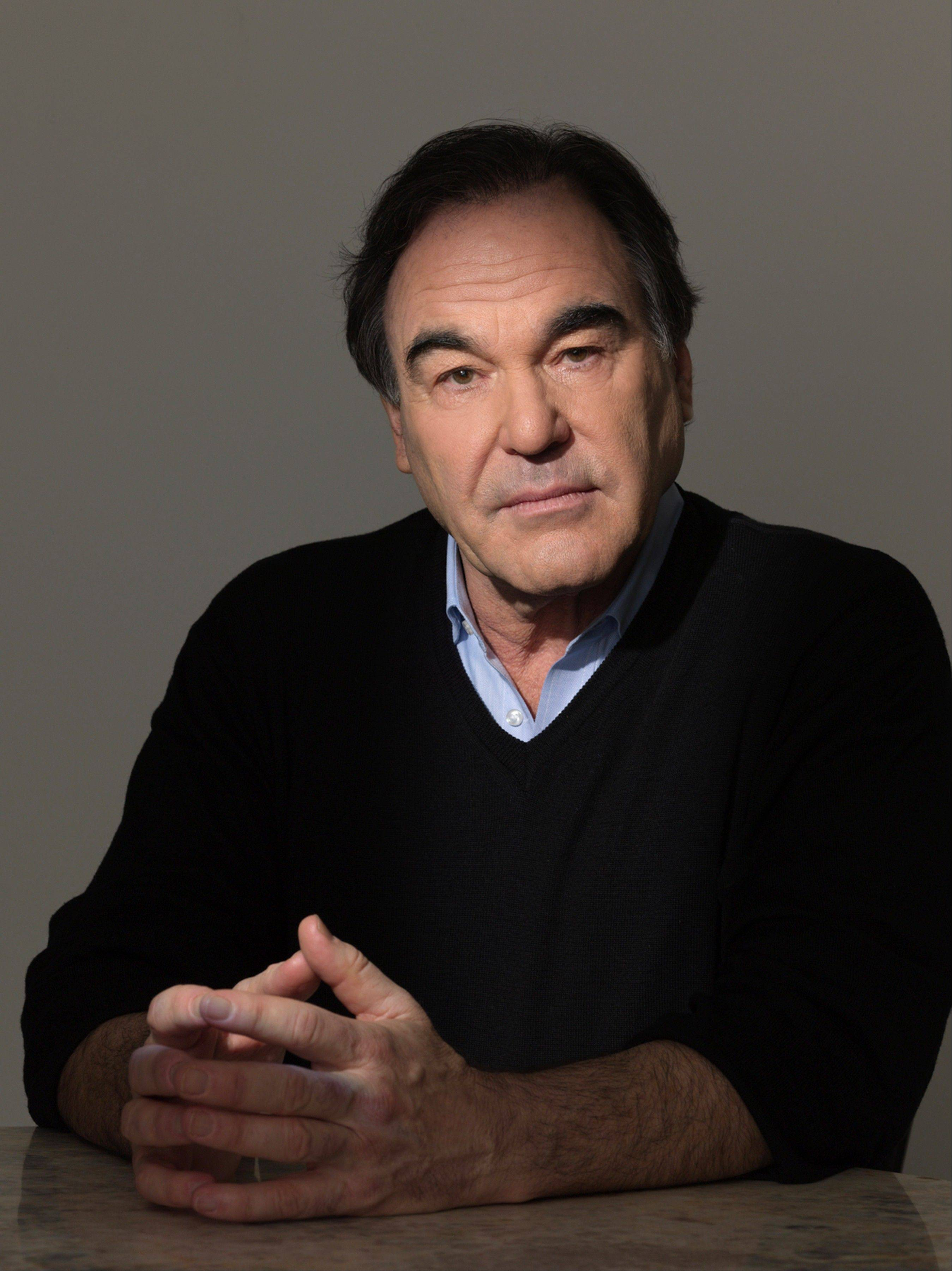 "Oliver Stone is the creator and executive producer of the 10-episode documentary series ""Oliver Stone's Untold History of The United States,"" airing on Showtime."