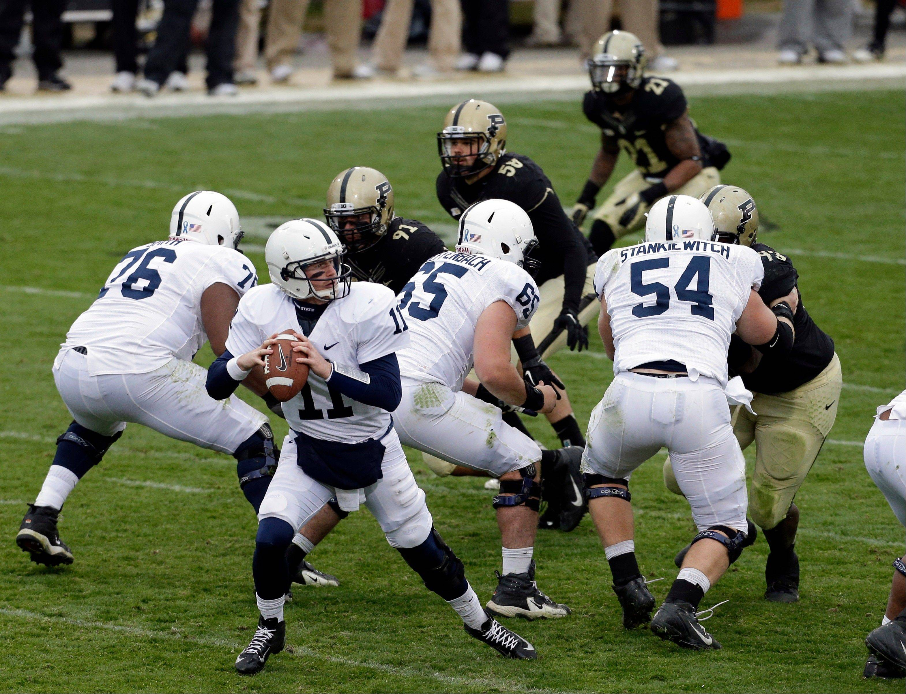 Penn State quarterback Matthew McGloin has thrown 18 touchdown passes this season.
