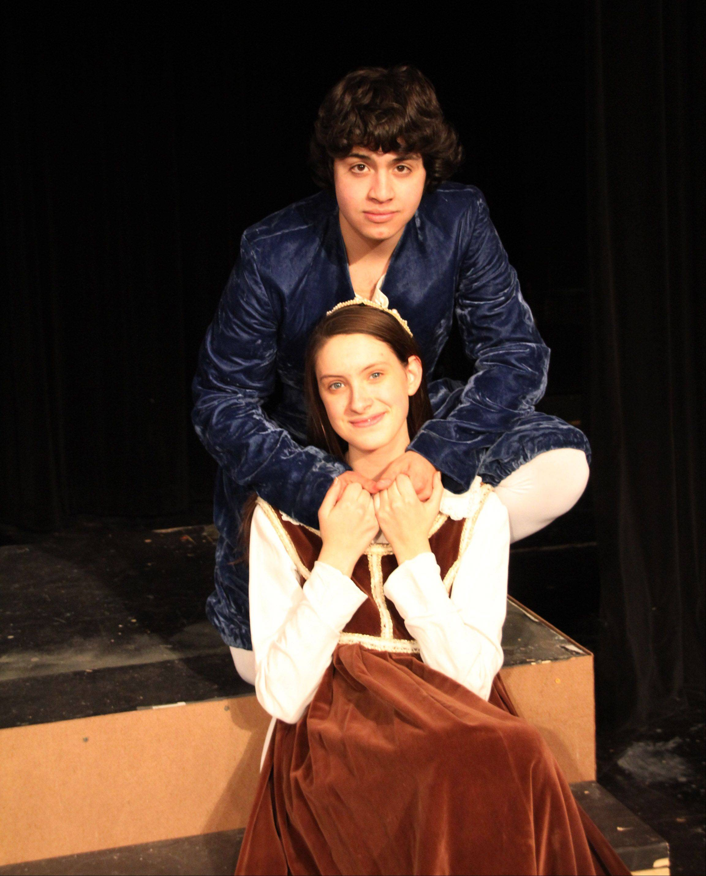 """Romeo and Juliet,"" William Shakespeare's famous love story, will be performed this fall at Mundelein High School. Romeo is played by Oscar Roderigo Araiza Bravo and Juliet is played by Emma Morton."