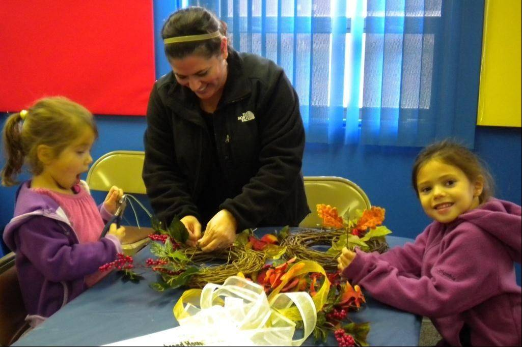 The Elmhurst Historical Museum invites families to make a fall wreath in a craft workshop on Sunday.