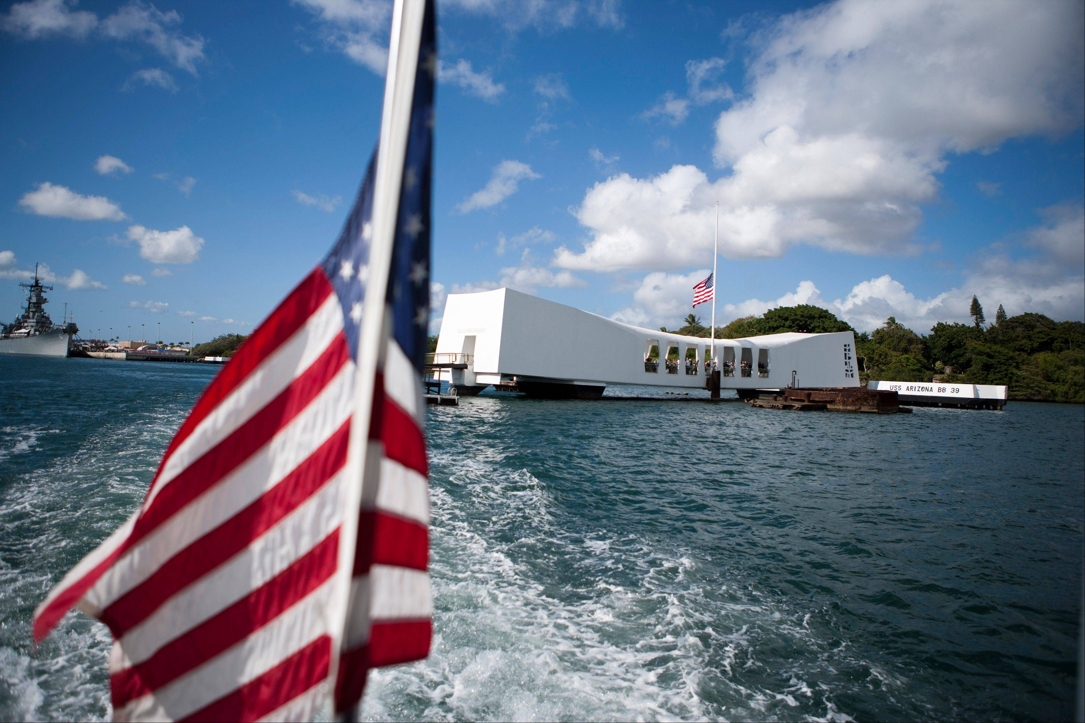 The USS Arizona Memorial in Pearl Harbor is actually a grave, a resting place for crew members who died in the Pearl Harbor attack of Dec. 7, 1941.