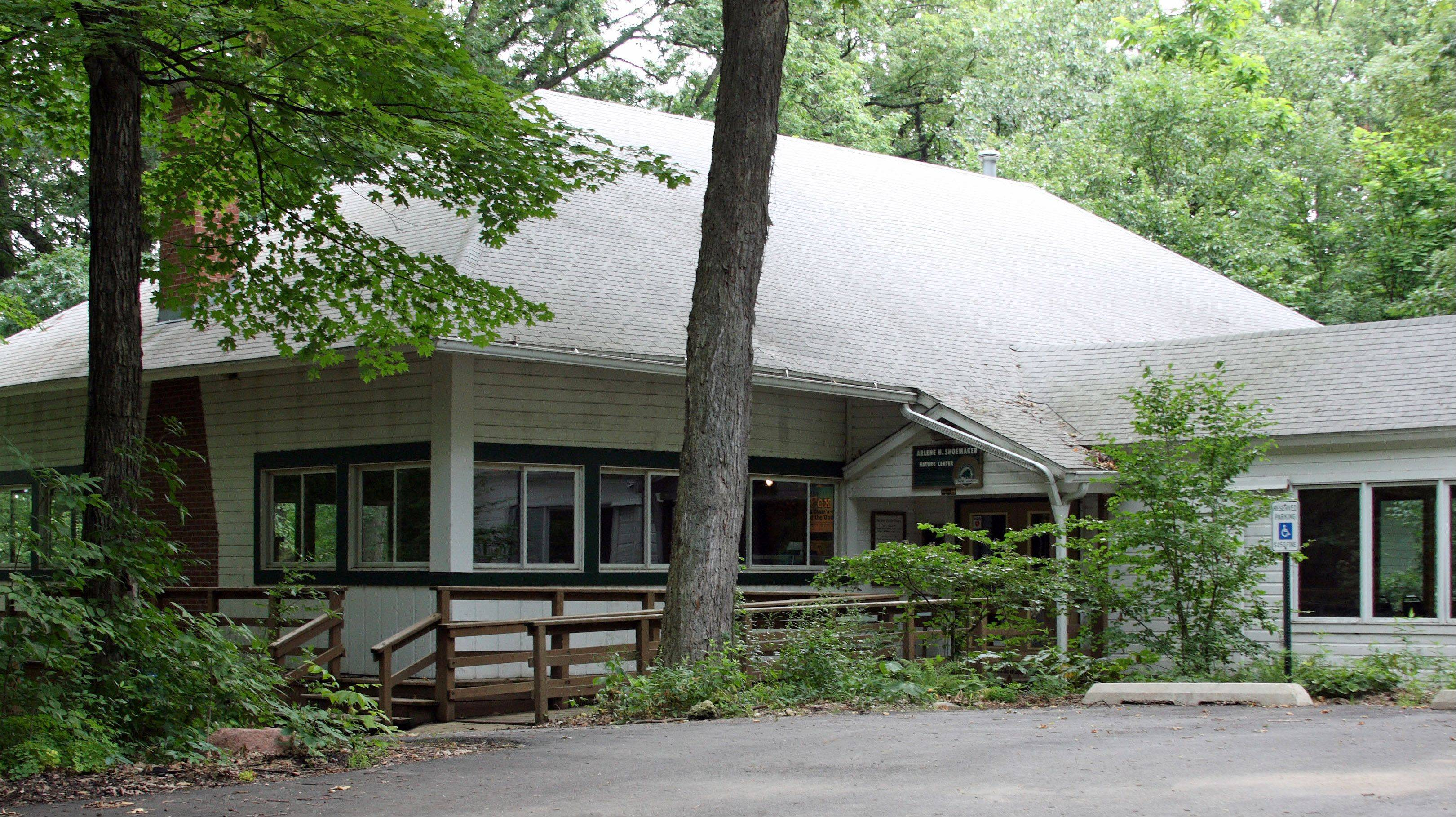 The Nature Center at Tekakwitha Woods in St. Charles.
