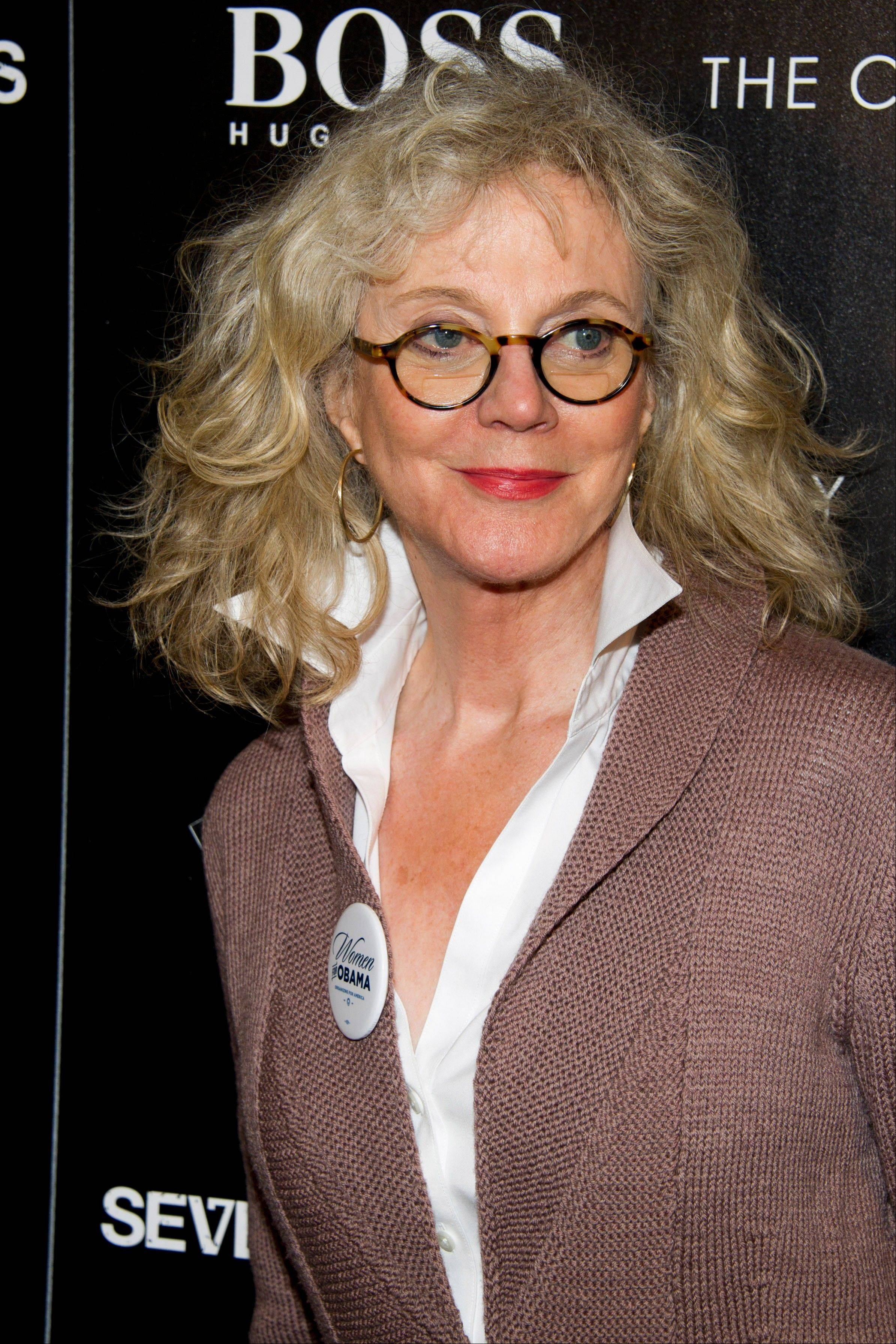 "Blythe Danner at a screening of the ""Seven Psychopaths"" hosted by The Cinema Society and Hugo Boss in New York. Danner is jumping into the Broadway show ""Nice Work If You Can Get It,"" playing the mother of Matthew Broderick's wealthy playboy character. Danner assumes the role currently being played by Academy Award-winner Estelle Parsons on Dec. 18. She'll play it for 12 weeks through March 10."