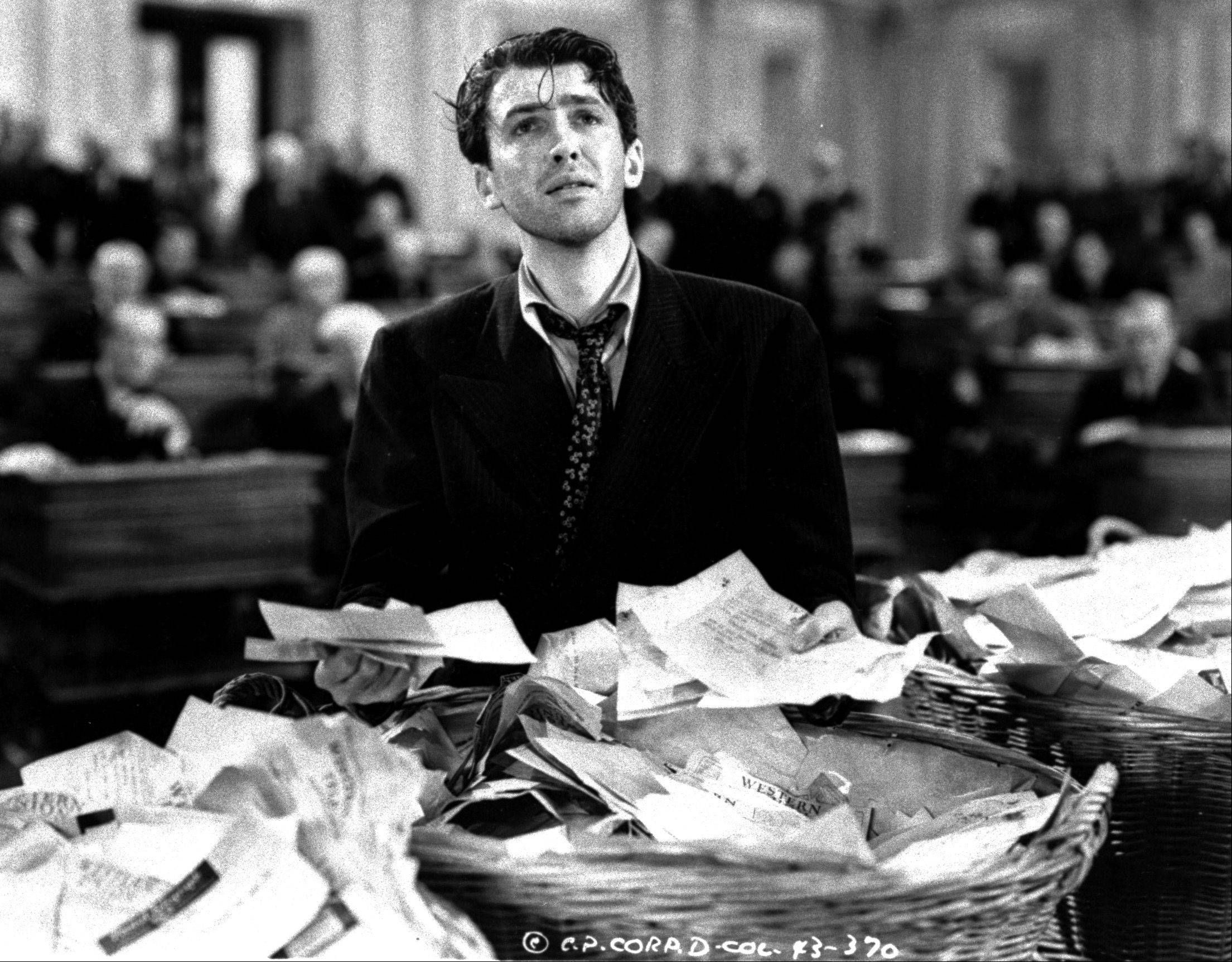 "The most famous Senate filibuster never really happened, but Jimmy Stewart -- seen here as he filibustered in the 1939 film ""Mr. Smith Goes to Washington"" -- at least showed how it's supposed to work. The modern Senate permits the threat of filibuster to be enough."