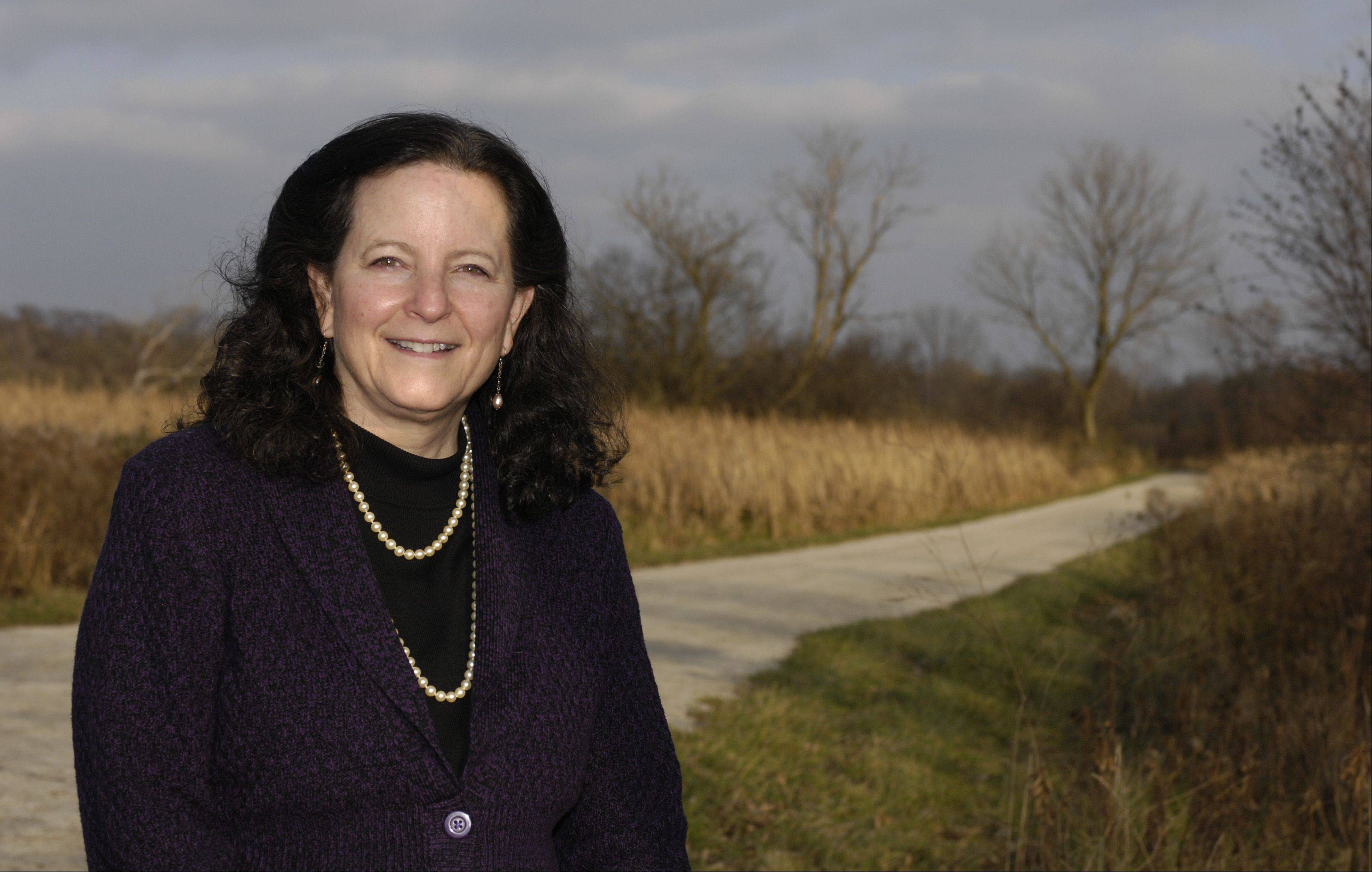 New DuPage Forest Preserve Commissioner Shannon Burns is the first Democrat to serve on the panel since the commission split from the DuPage County Board.