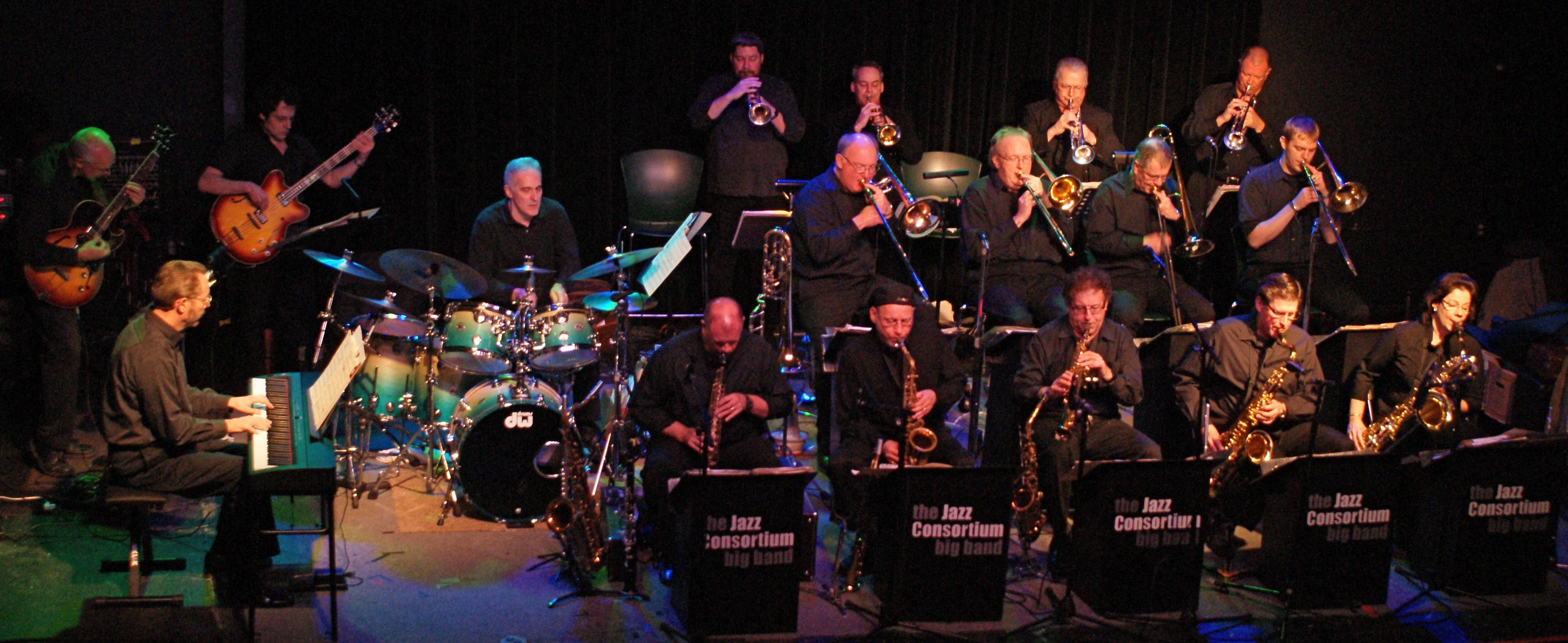 The Jazz Consortium Big Band in concert