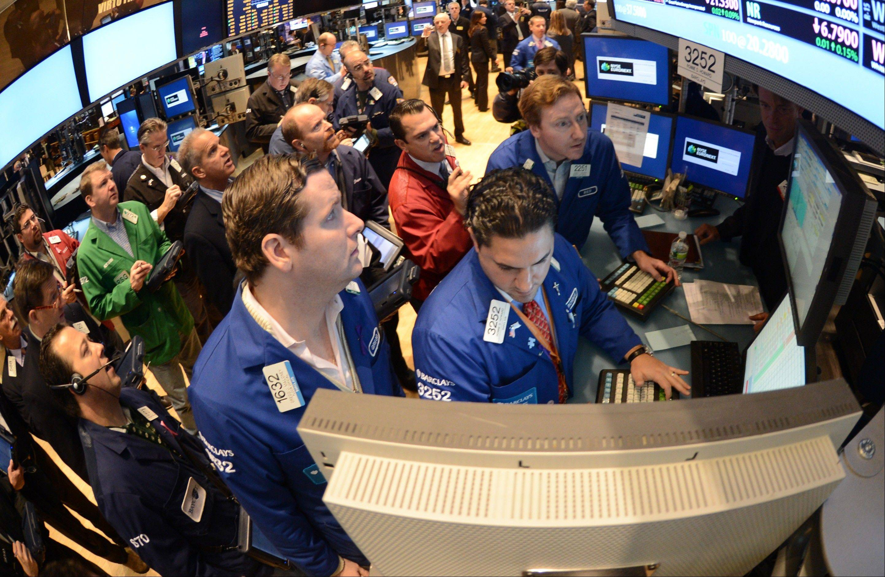 U.S. stocks rose, after last week�s Standard & Poor�s 500 Index�s biggest weekly retreat since June, as investors awaited budget talks in Washington and European finance chiefs met to discuss Greek aid.
