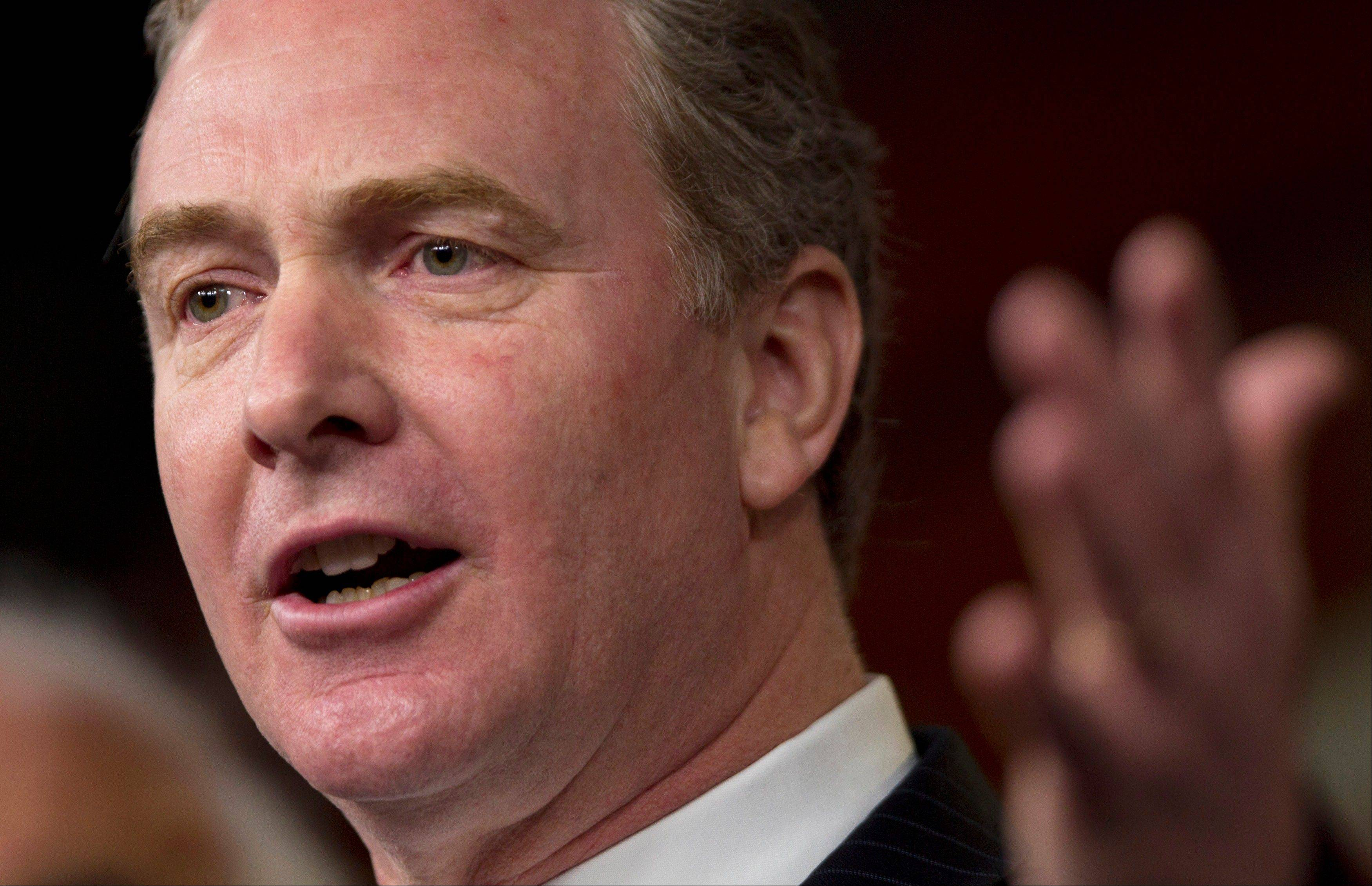 Rep. Chris Van Hollen, ranking Democrat on the House Budget Committee, says Republicans� �obsession with small changes in tax rates goes back to this pixie-dust theory that if you cut tax rates for wealthy people, it pays for itself� through job creation. �That theory went bust,� he said.