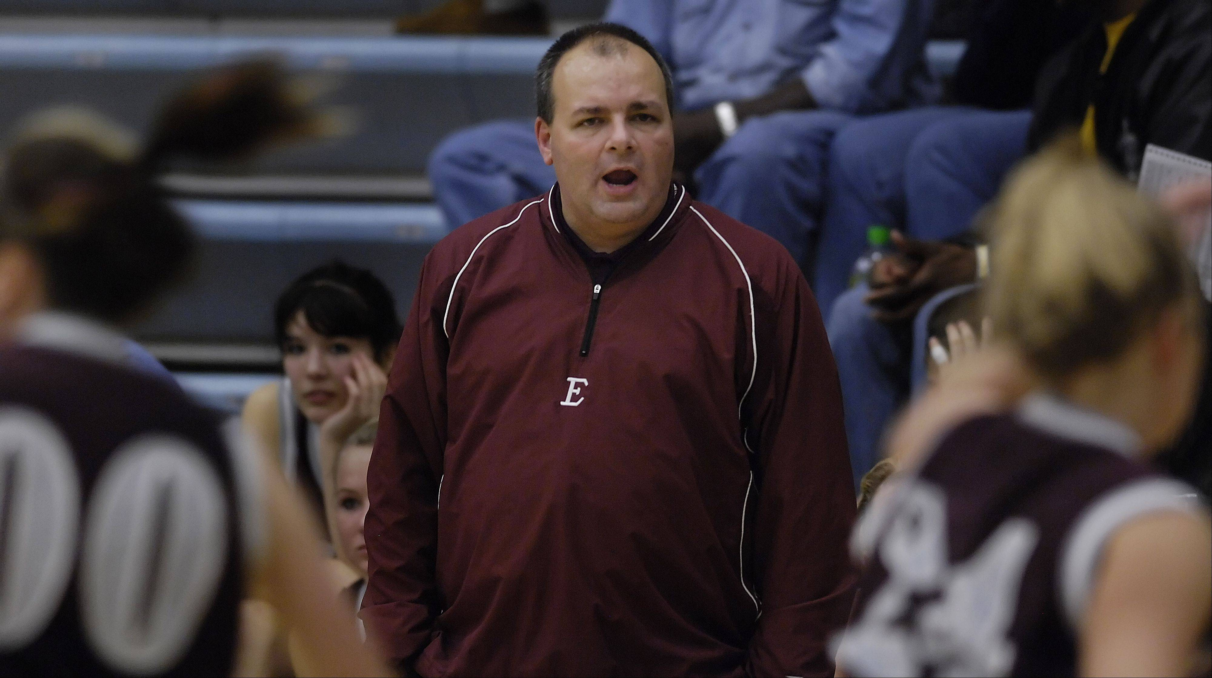 Elgin girls basketball coach Dr. Nick Bumbales is hoping his Maroons can gain some confidence this week at the Elgin Academy Thanksgiving tournament.
