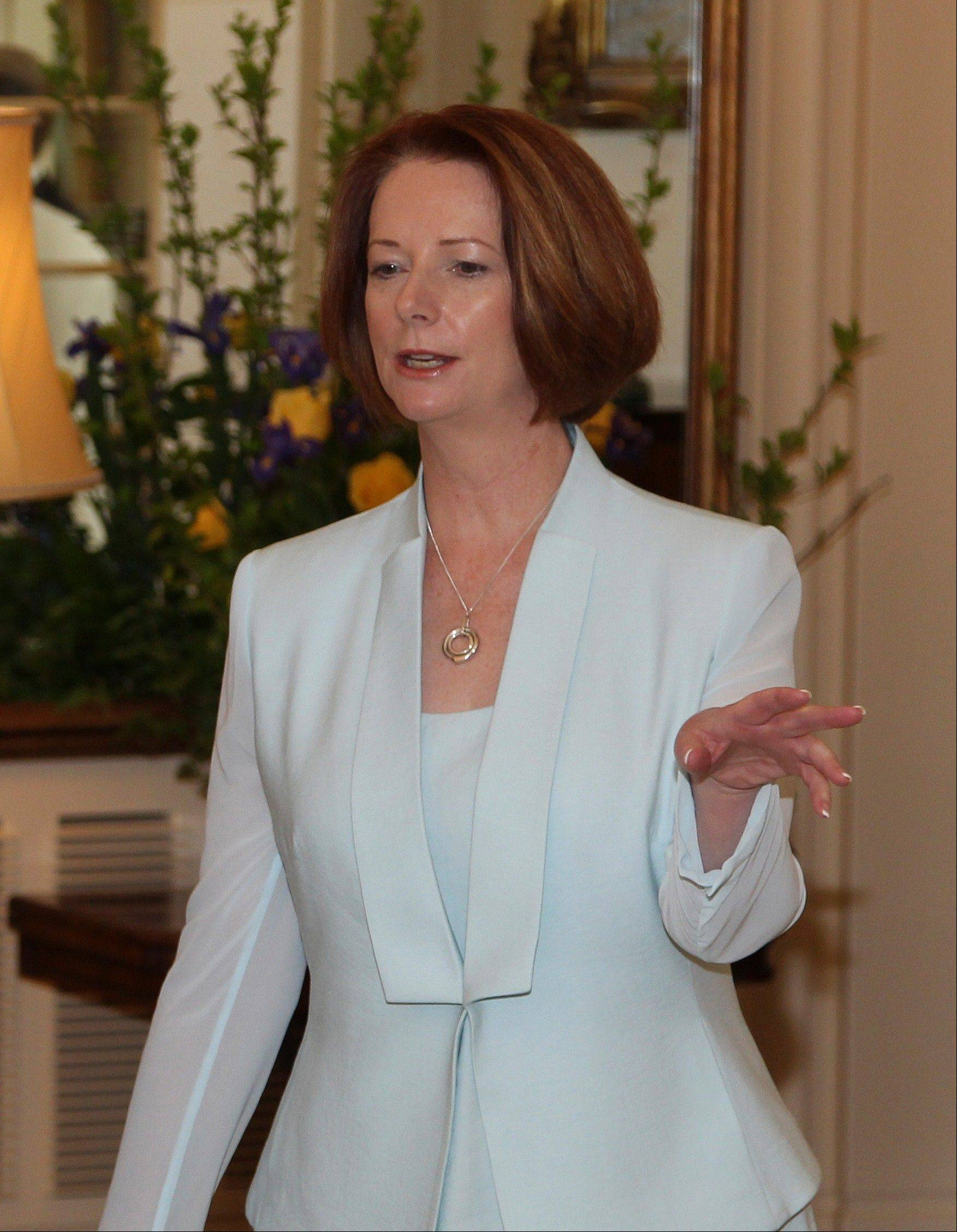 Australian Prime Minister Julia Gillard ordered a federal inquiry Monday into allegations of child sex abuse in state and religious institutions and community groups following a string of sexual abuse accusations against priests and claims of a Catholic Church cover-up.
