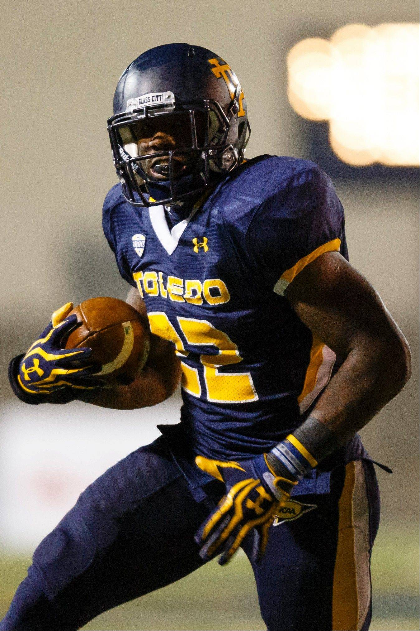 Toledo running back David Fluellen rushed for 200 yards last week in a loss to Ball State. The Rockets (8-2) travel to DeKalb on Wednesday for face 9-1 Northern Illinois, led by quarterback Jordan Lynch, with the MAC West title at stake.