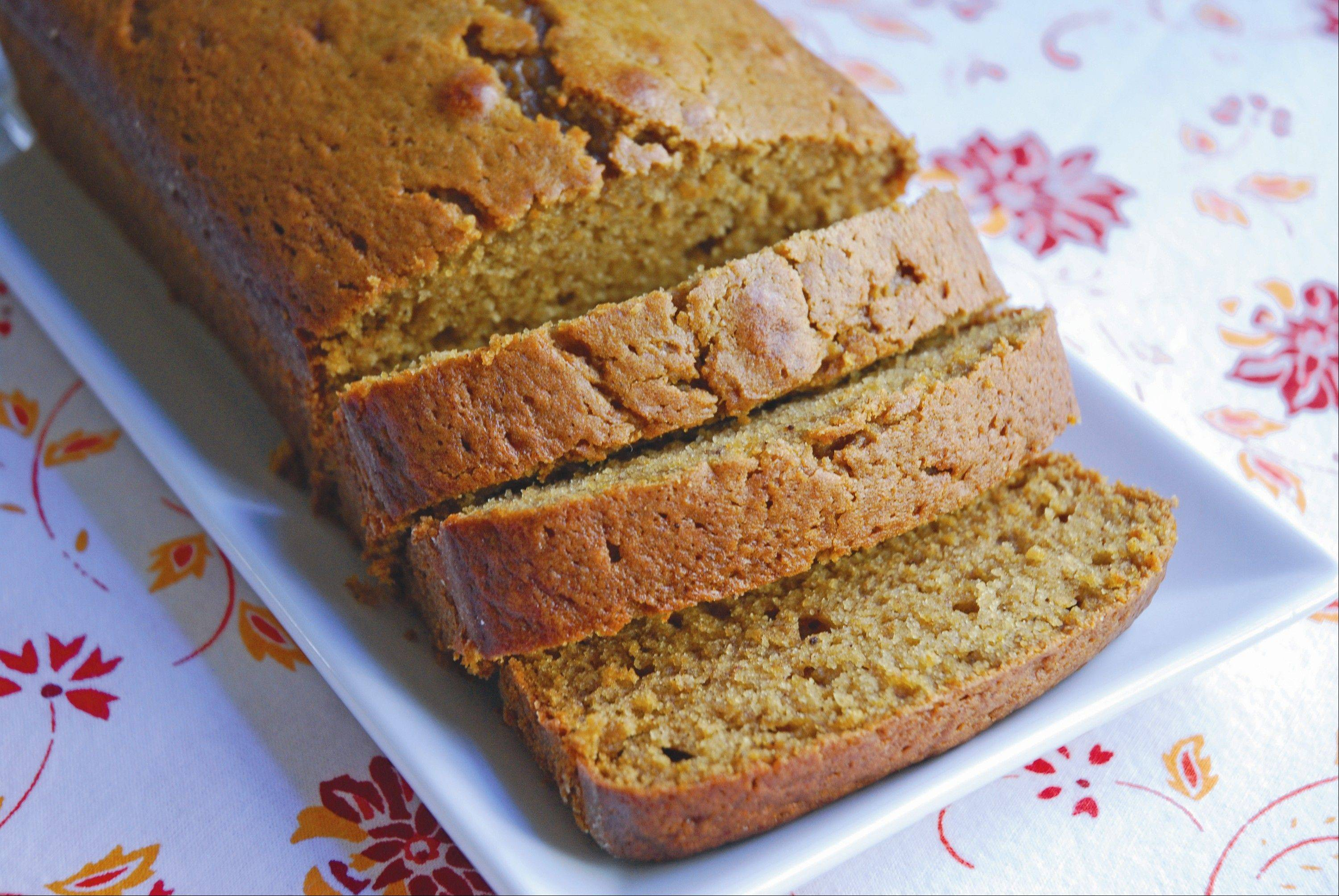 Start off Turkey Day with a tasty quick bread
