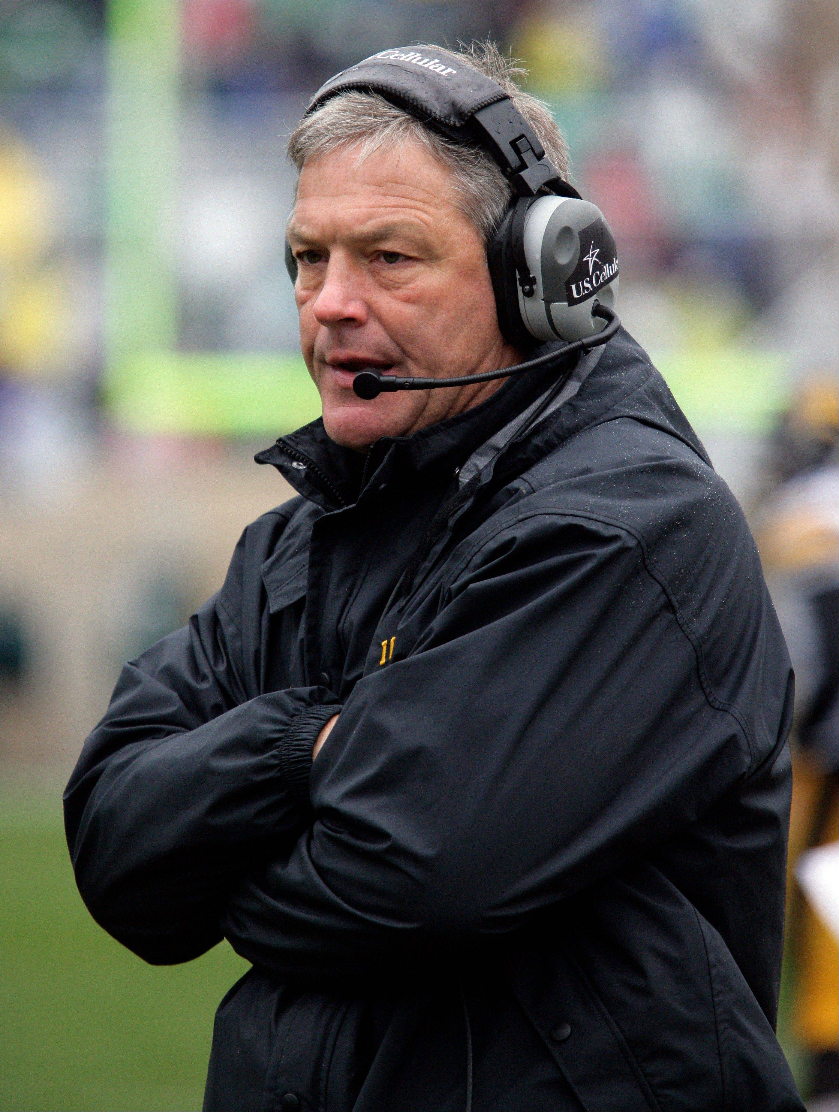 Iowa isn't giving up on coach Kirk Ferentz despite a third straight season of diminishing returns. The Hawkeyes simply have to hope that the well-respected coach who has twice revived the program has another turnaround in him.