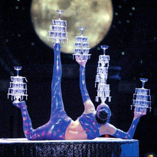 The Golden Dragon Acrobats appear at the Raue Center for the Arts in Crystal Lake on Friday, Nov. 16.