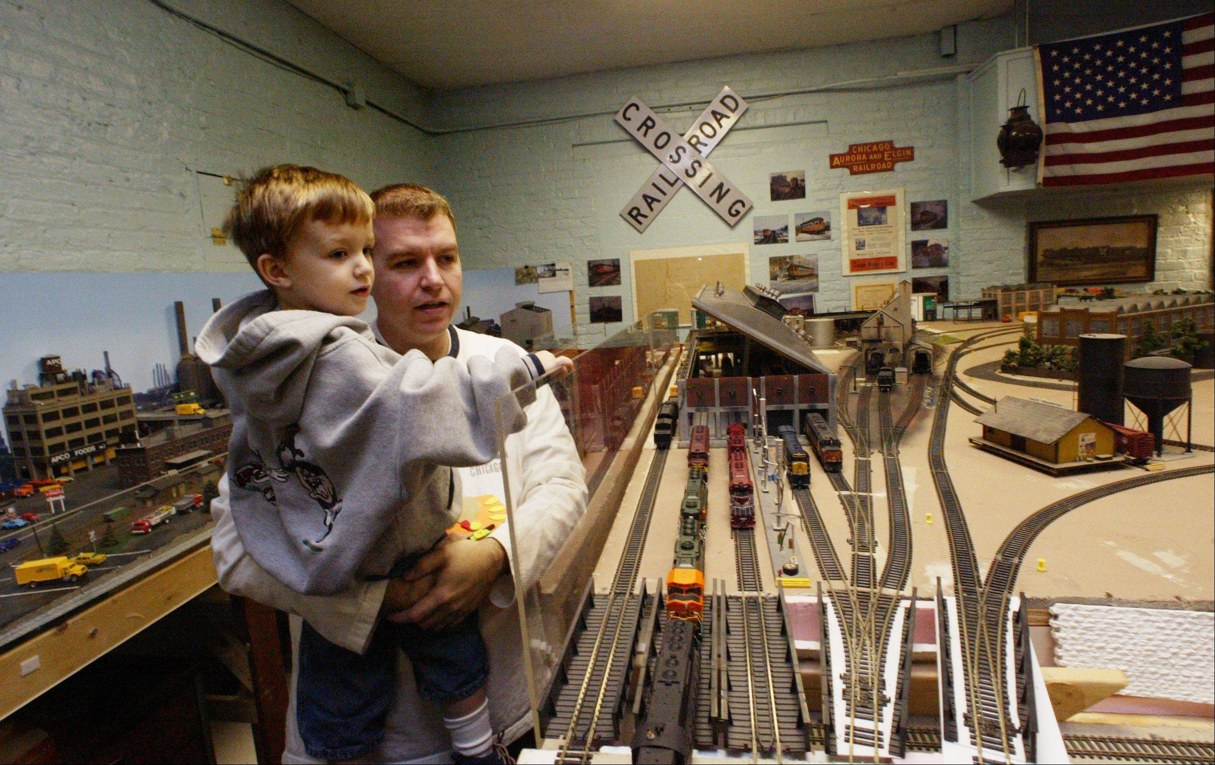 Train enthusiasts of all ages are invited to check out the layouts this weekend at the Valley Model Railroad Club's open house in South Elgin.