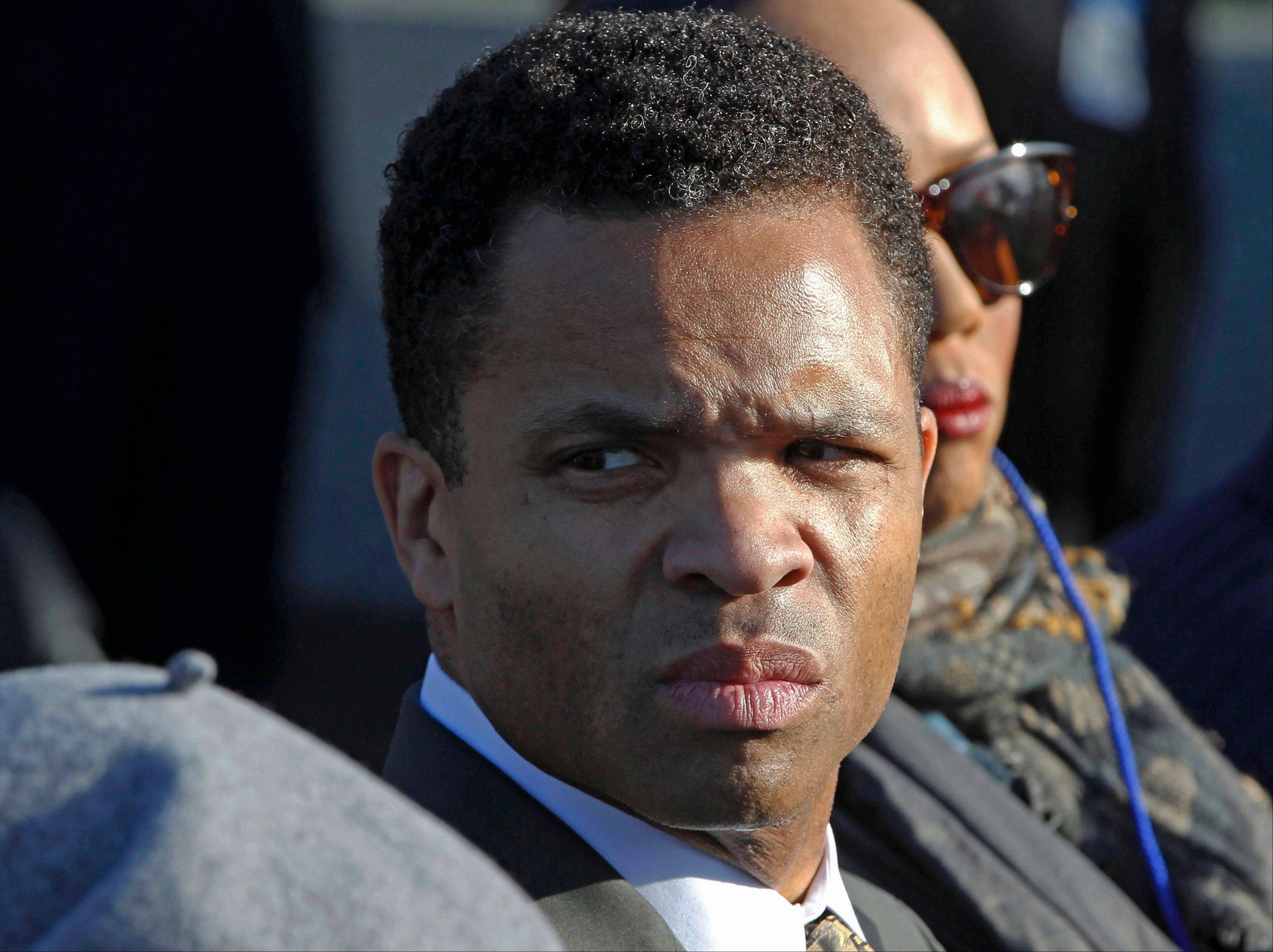 A spokesman at the Mayo Clinic in Minnesota said Tuesday that Rep. Jesse Jackson, Jr., seen here, left the clinic, where he was being treated for bipolar disorder for the second time since taking a leave of absence from Congress in June.