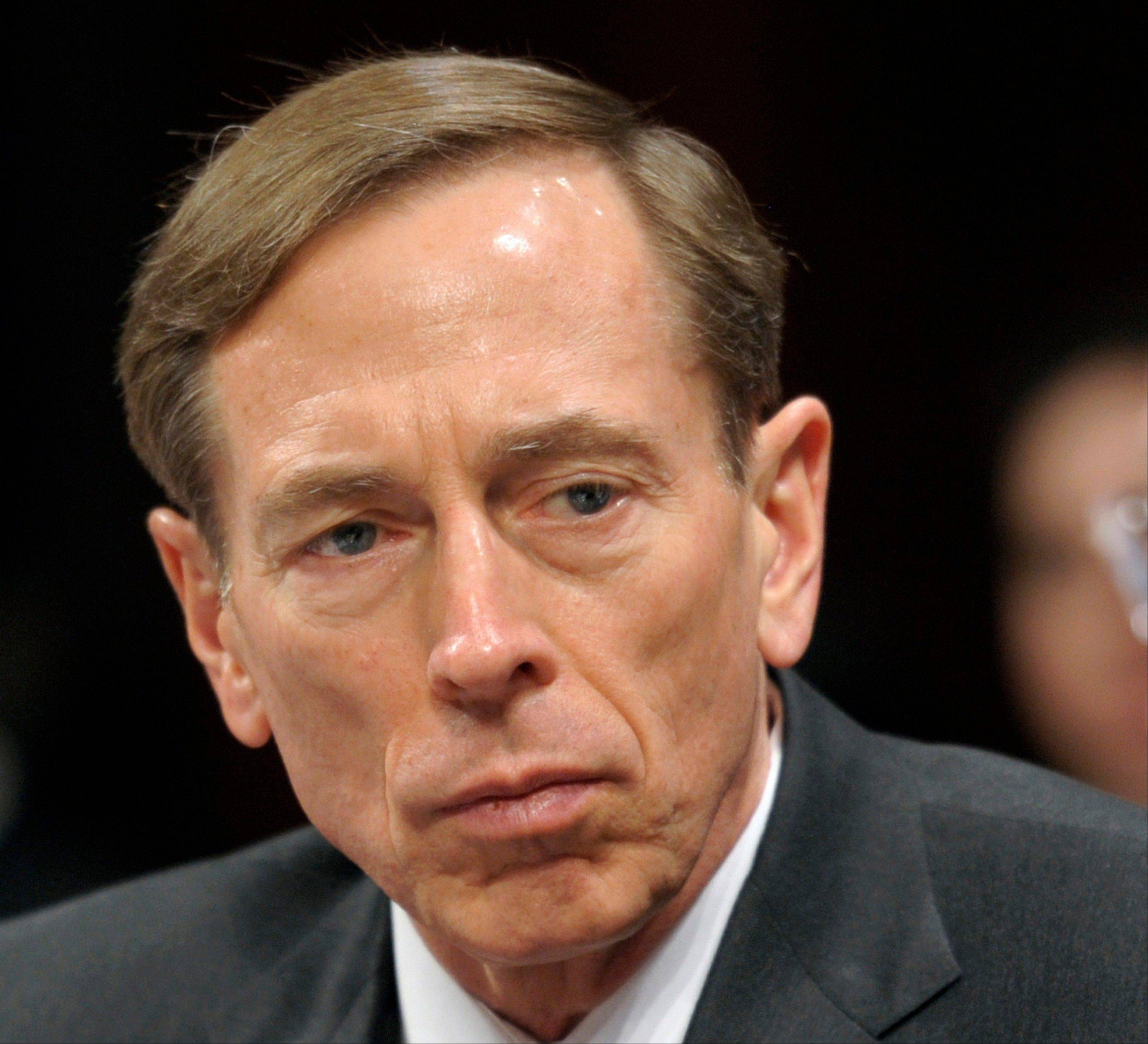 CIA Director David Petraeus has resigned because of an extramarital affair.