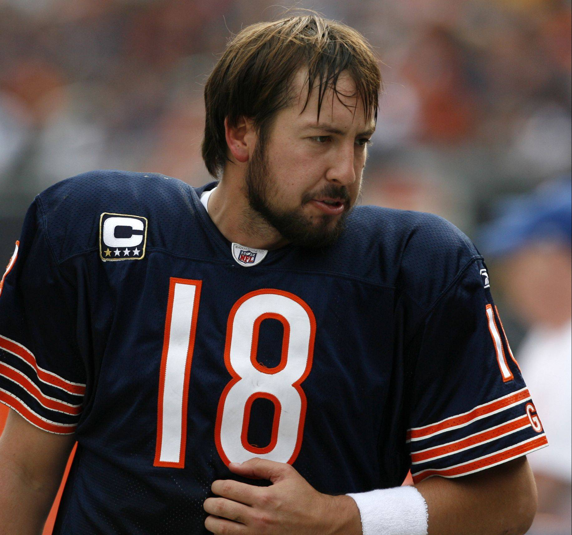 "Before Bears quarterback Jay Cutler and his fledgling ""Movember"" mustache, Kyle Orton and his ""neck beard"" set the standard for football facial hair."