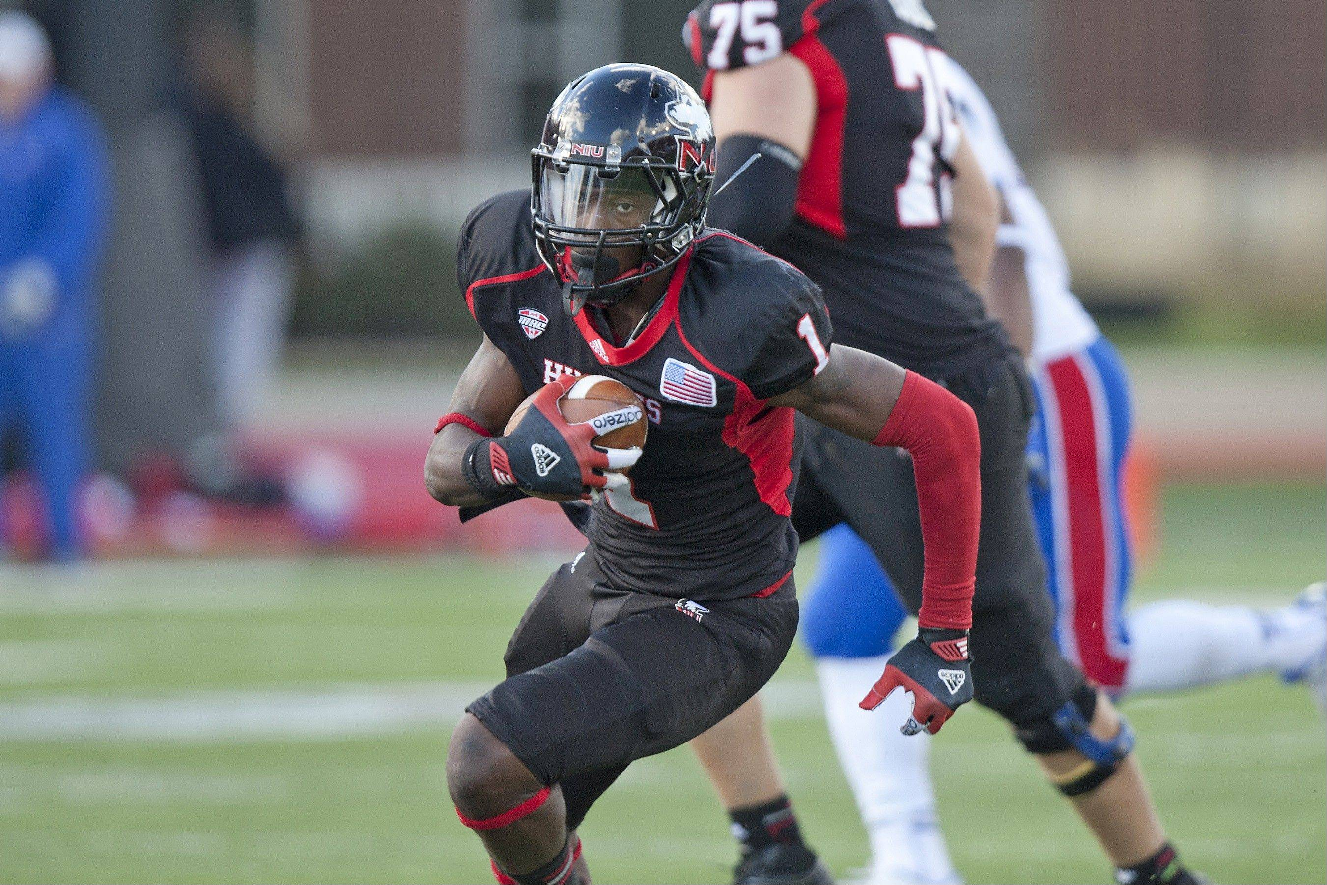 Martel Moore, a wide receiver, is part of a 13-member senior class that has collected the most wins in the history of Northern Illinois University's football program and is headed to its fourth straight bowl game.
