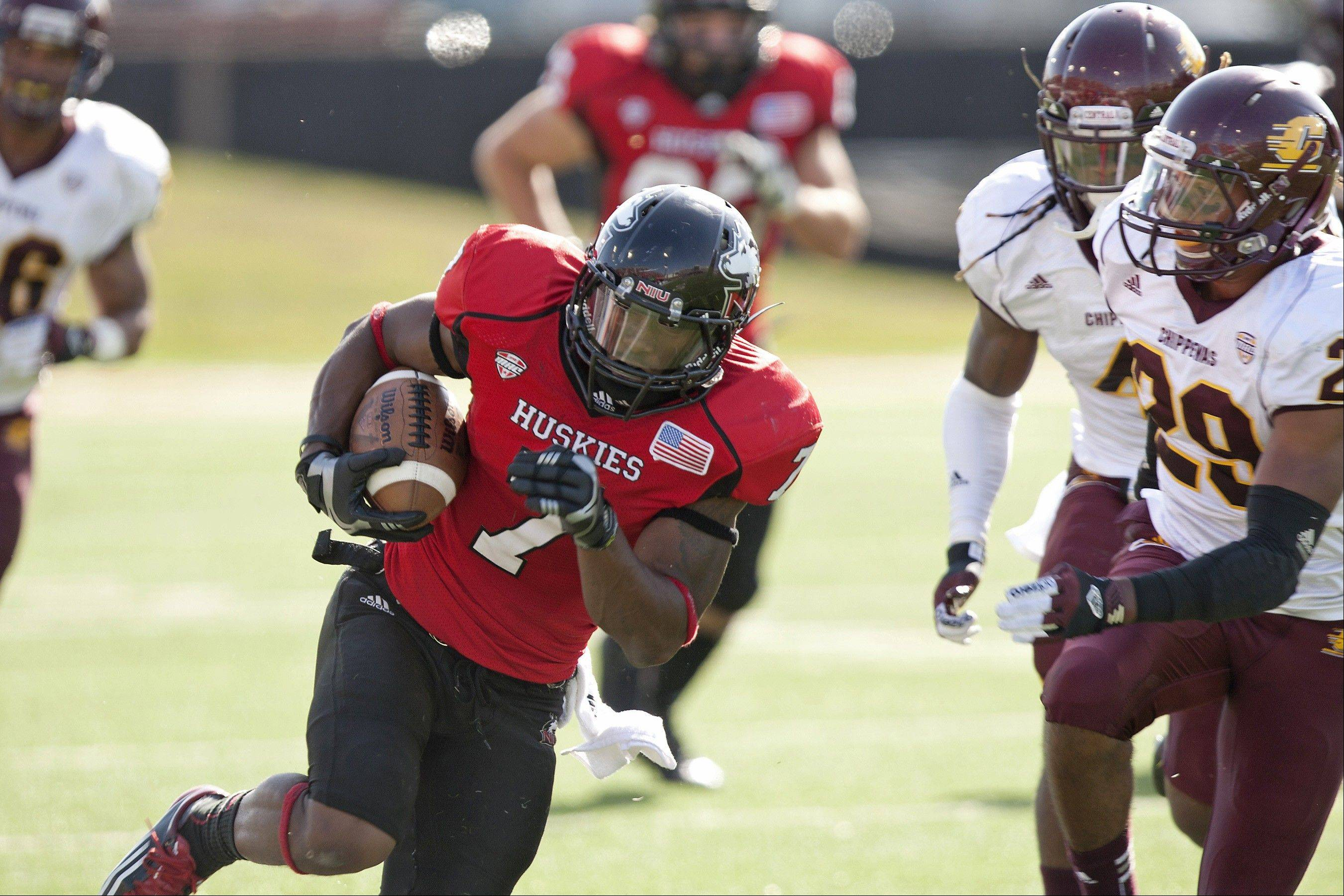 Perez Ashford, a wide receiver, is part of a senior class at Northern Illinois University has won 38 games in four seasons to date and has a chance for another West Division and MAC Championship this year.
