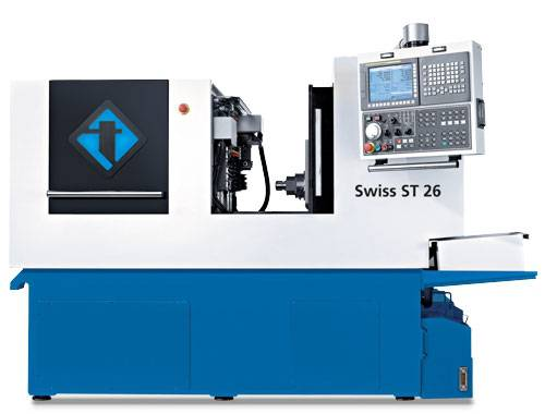520 Machinery has experienced strong demand for Tornos' newest machine--The Tornos ST26--because it offers great value for a very competitive price. The Swiss ST26 is known for its productivity, performance and accessibility when in comes to a high performance Swiss type lathe.