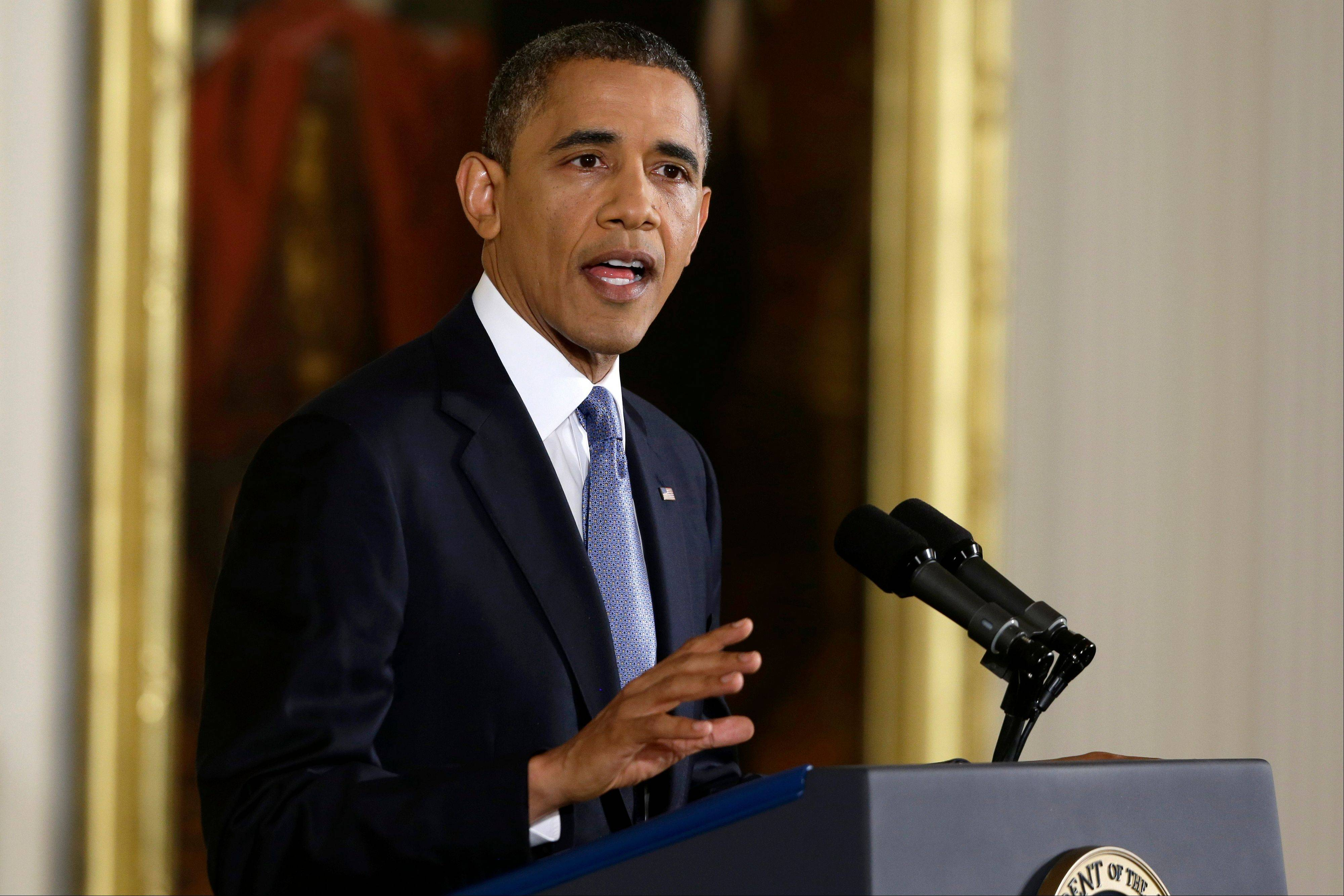In his first press confernce since his re-election, President Barack Obama on Wednesday said voters sent a �very clear message� on Election Day that they want both parties work together to cut the budget deficit with a mix of tax increases for the wealthy and cuts in spending.