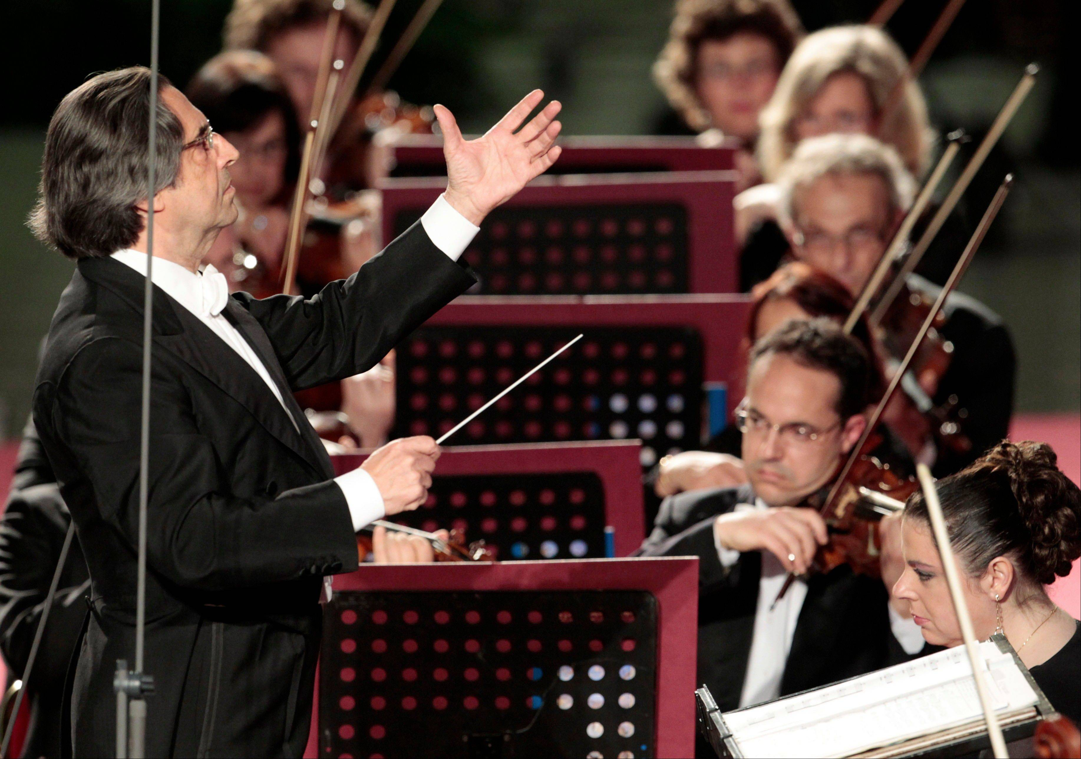 Riccardo Muti, the master conductor, says he is worried that the stubborn financial crisis in much of the world risks impoverishing not just public coffers, but also the arts.