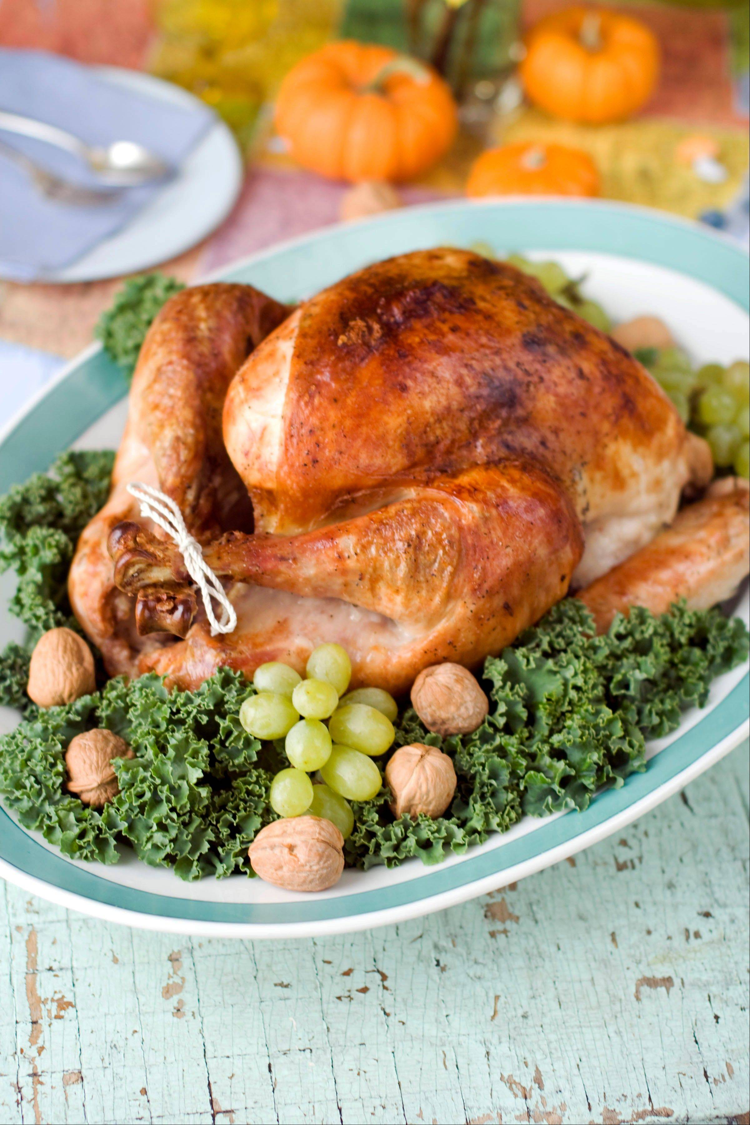Keeping the turkey simply flavored is one key to a family-friendly Thanksgiving feast.